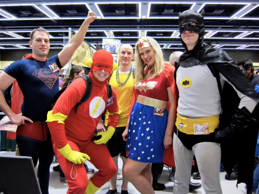 Cosplayers at Emerald City Comic Con