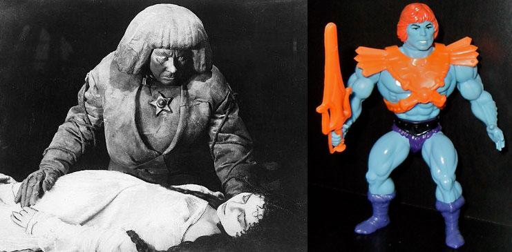 The Golem, 1915   Faker He-Man, 1982