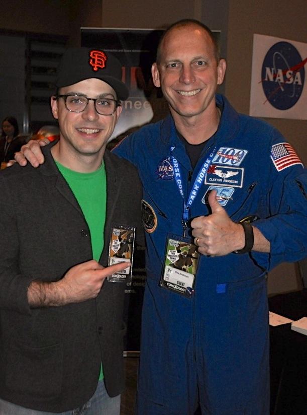 Astronaut Clay Anderson