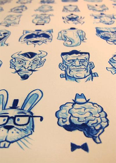 Tiny Blue Series