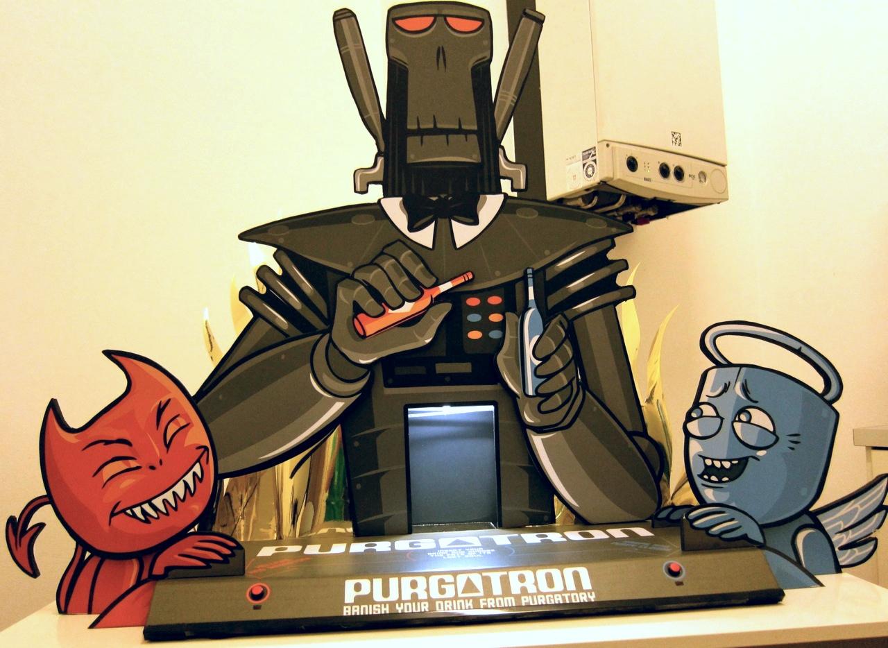 """""""Purgatron"""" Cocktail Robot"""