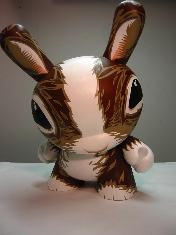 Custom Dunny for Kidrobot, 2003