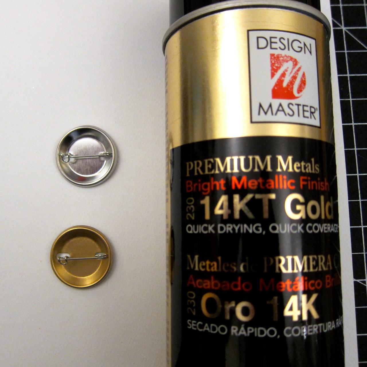 Gold Leaf Buttons Tutorial Ellingson,Creative Workstation Design