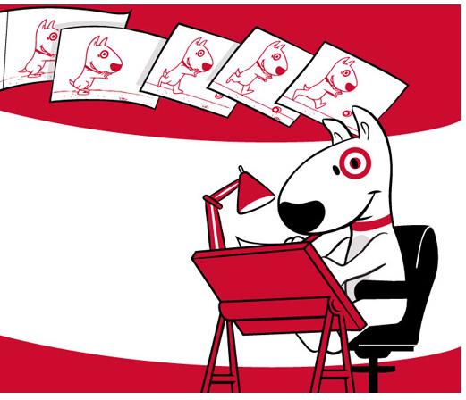 "Target ""Bullseye The Dog"""
