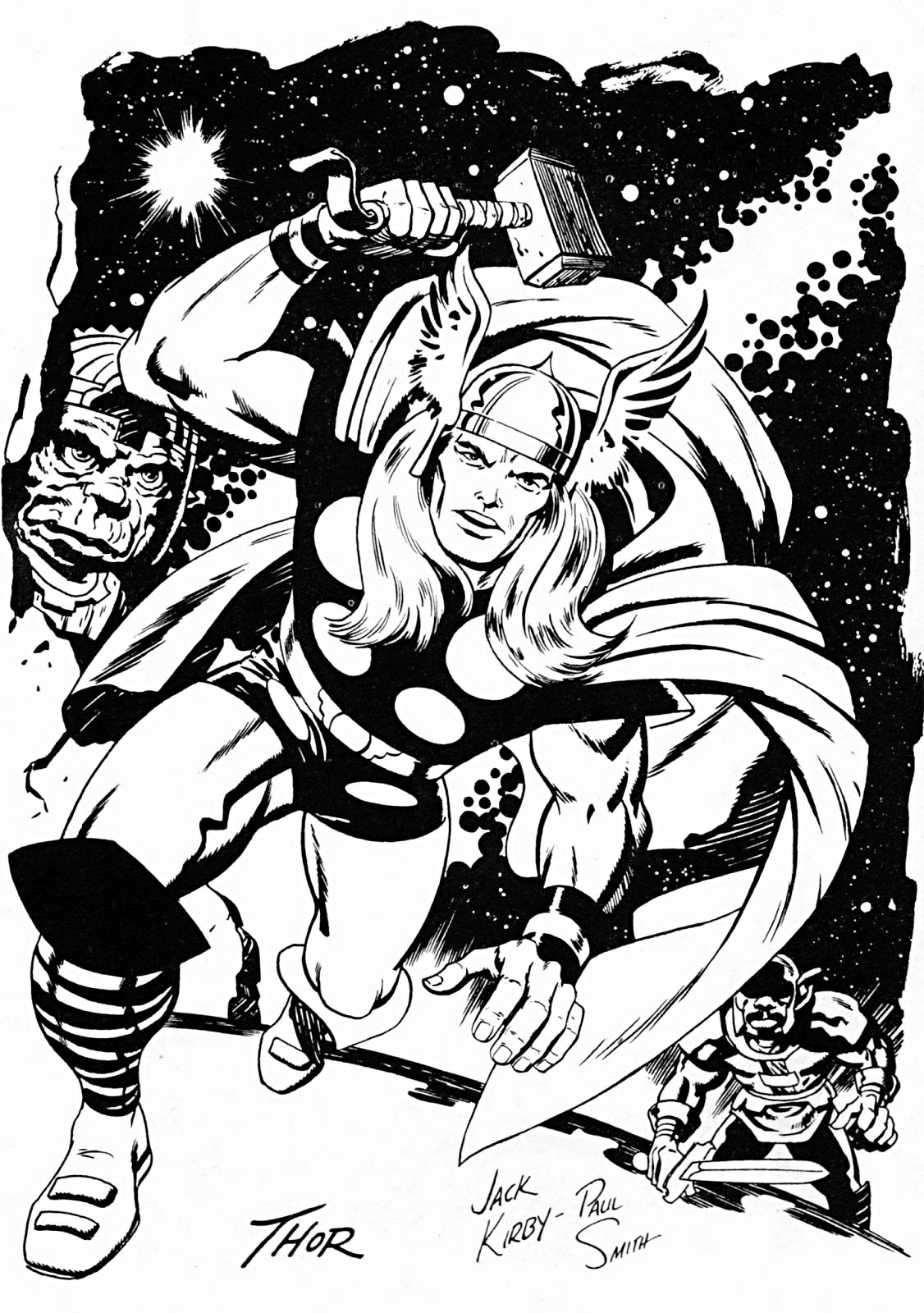 Jack Kirby (Basically all of Marvel)