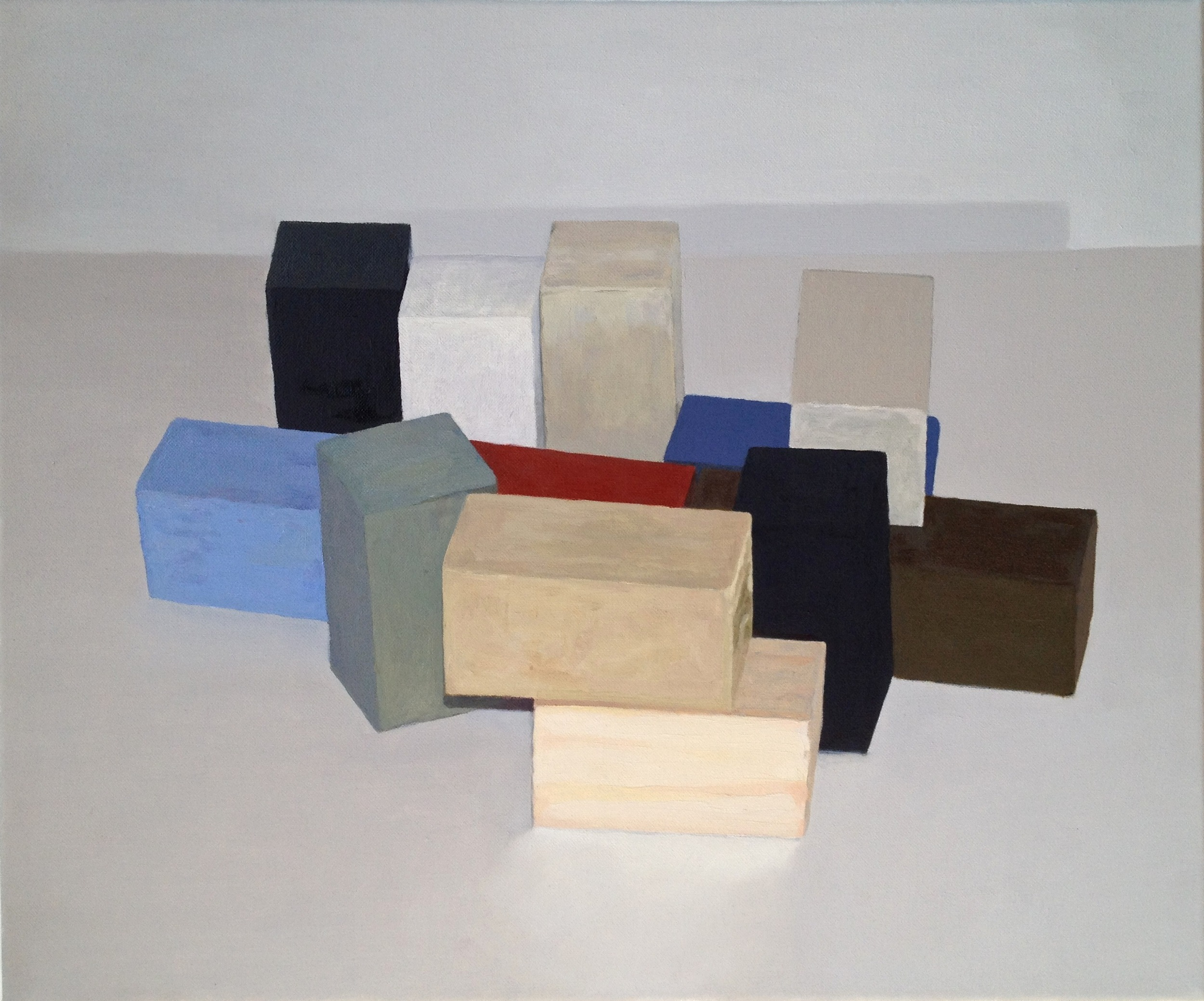 Morandi's Viewfinder, 2012 Oil on canvas, 20 x 24 inches