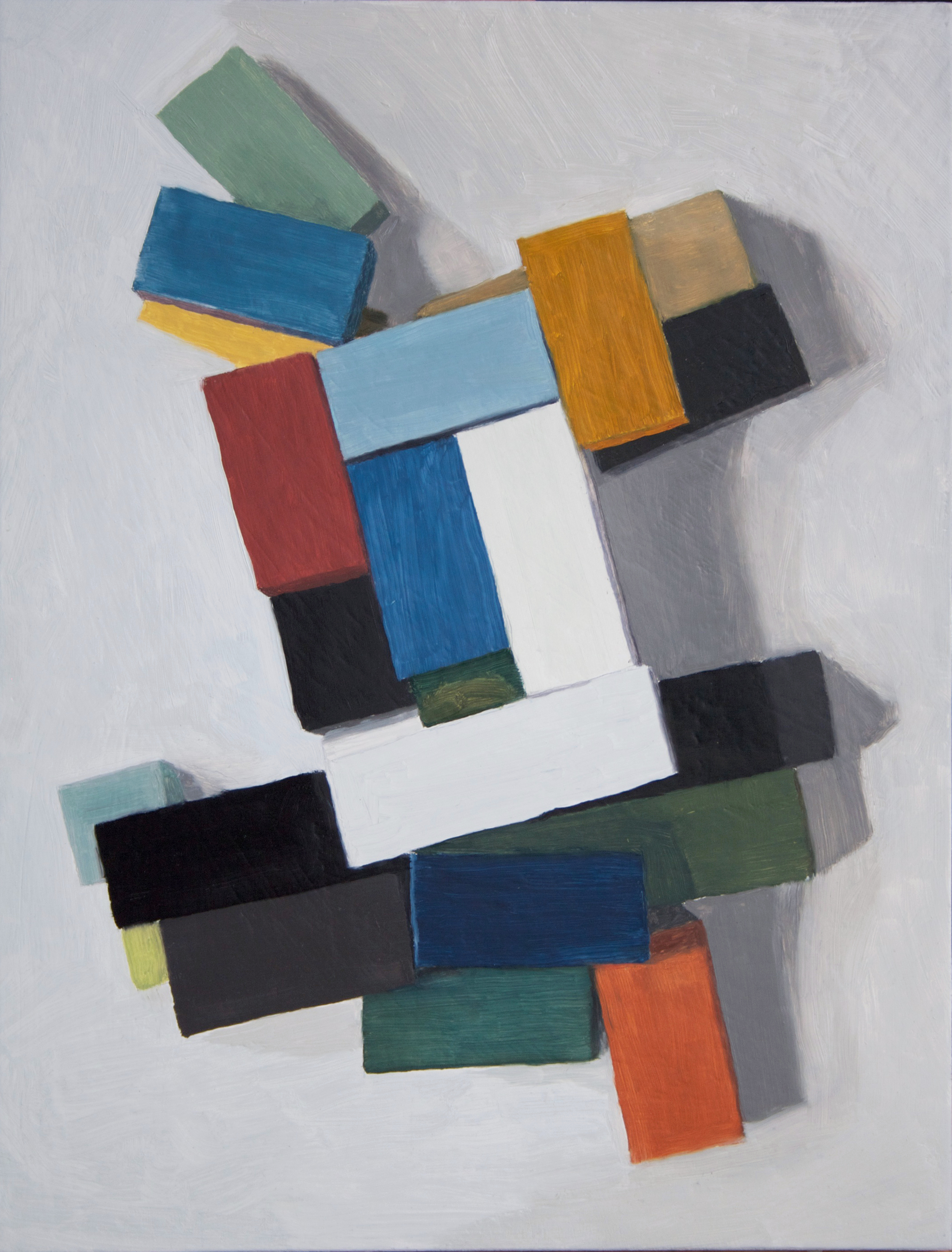 Right Angle , 2013 Oil on wood, 43 x 33 cm SOLD