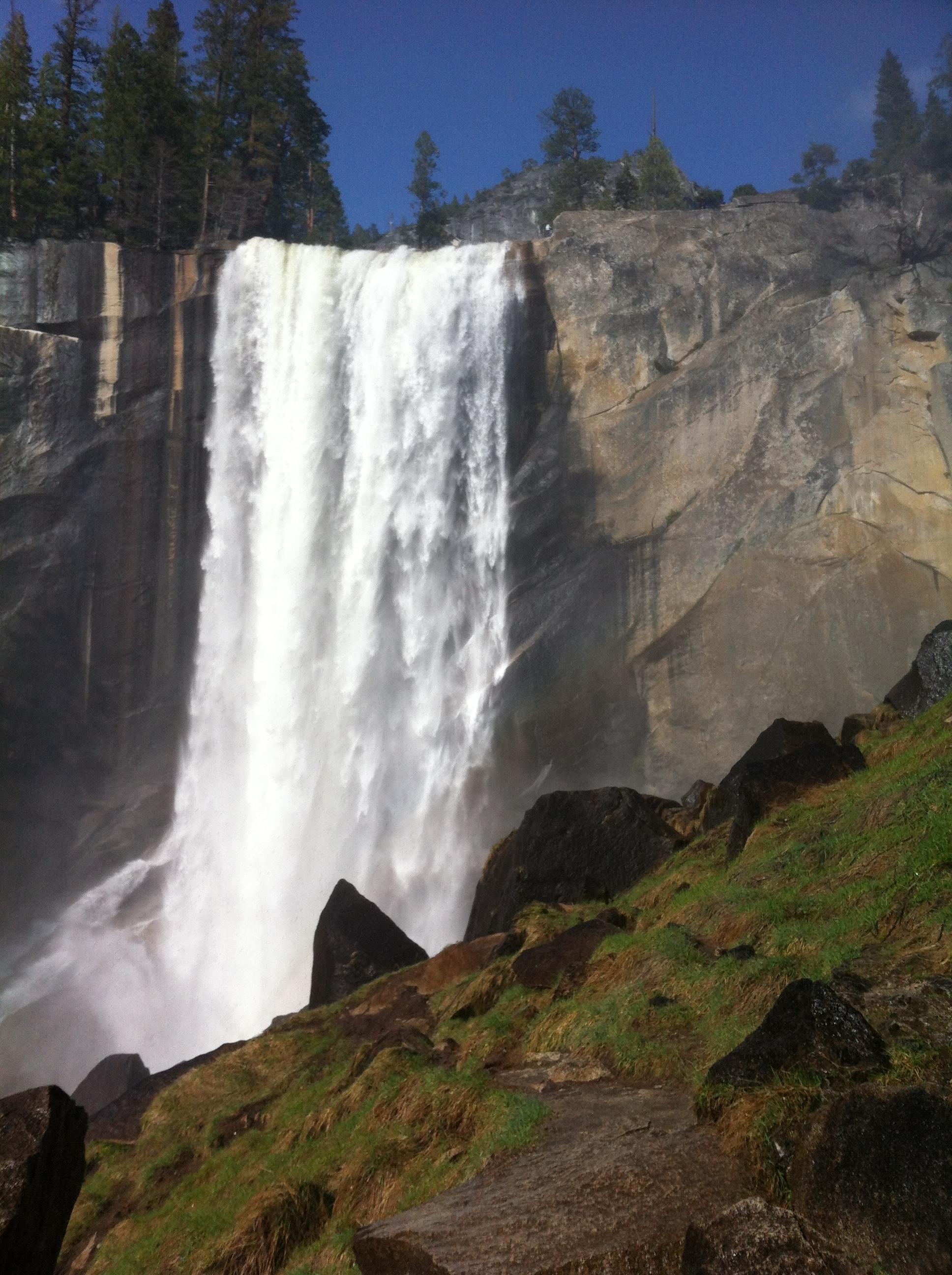 Vernal Falls, 2012