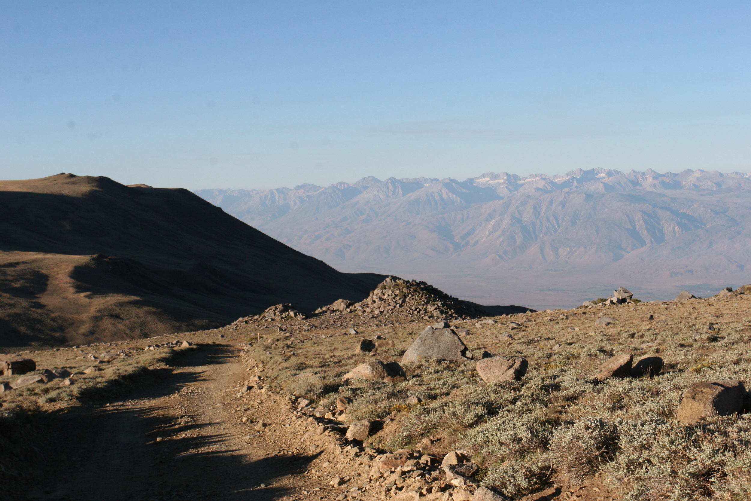 White Mountain Trail to Barcroft Station