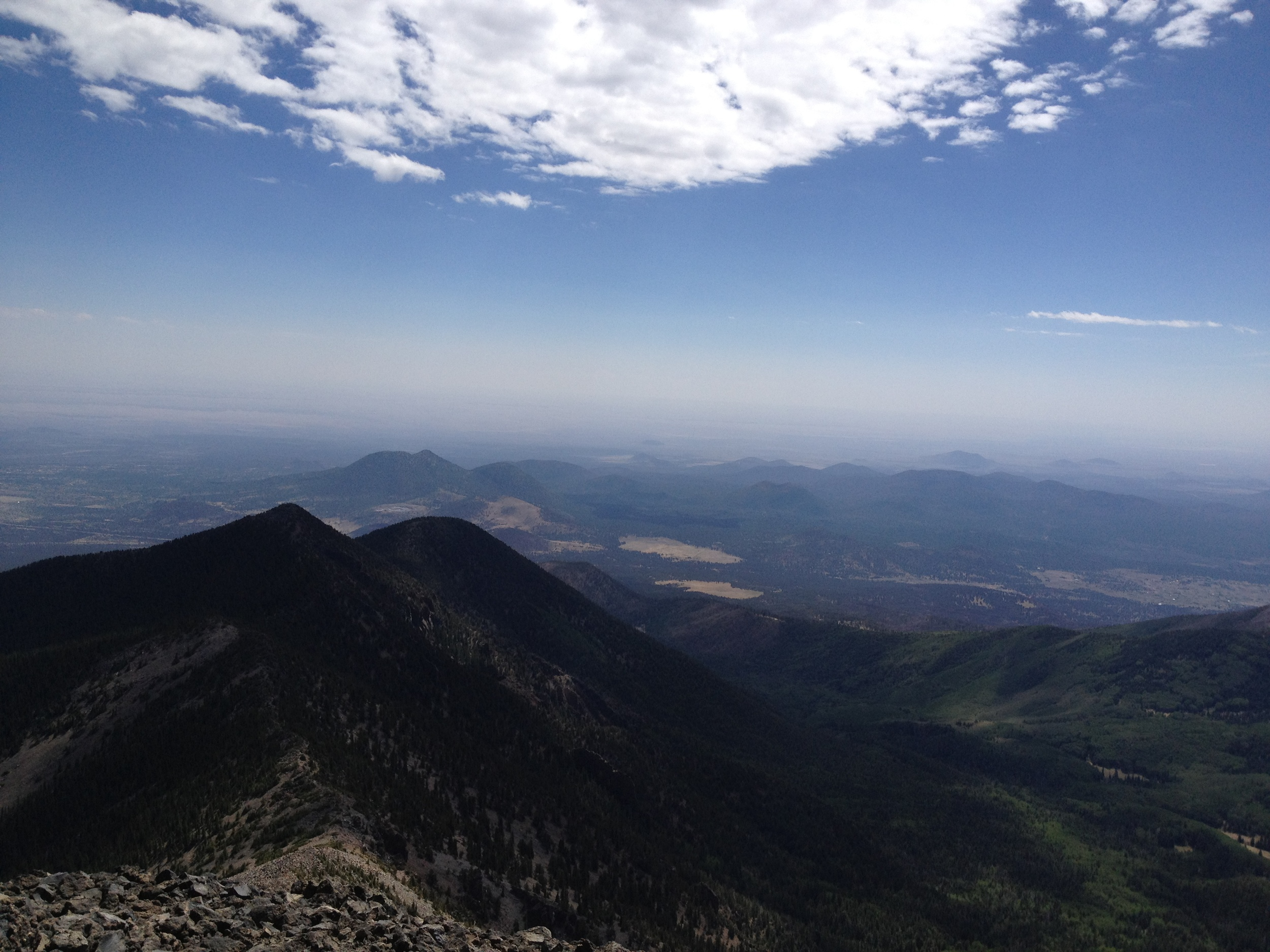 Summit, Humphreys Peak