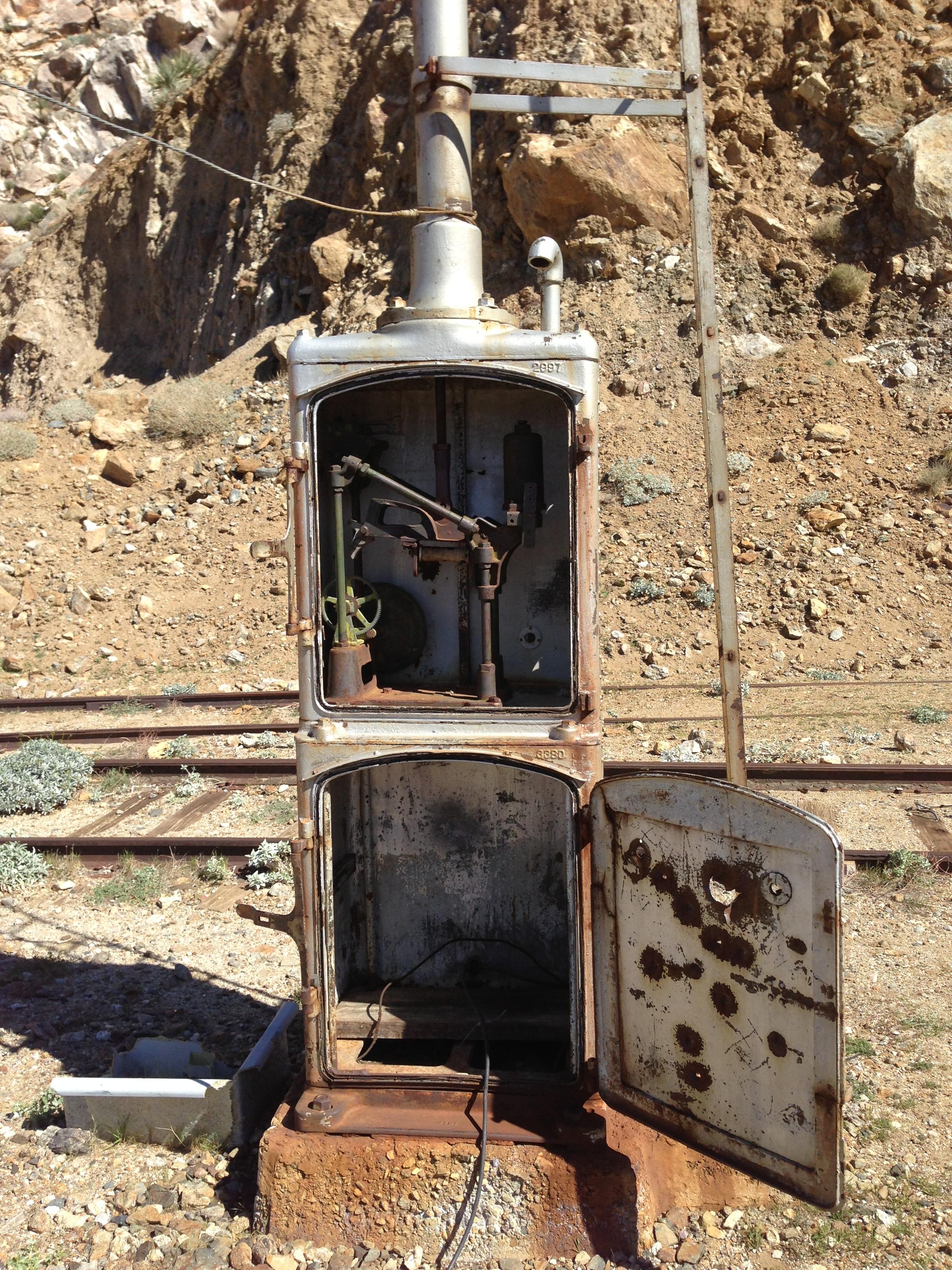 Old Switching Station, Goat Canyon Trestle, Carrizo Gorge, California