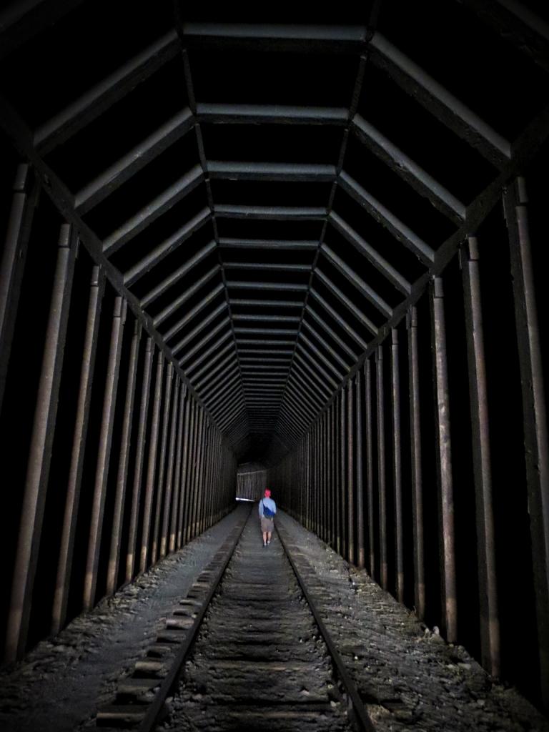 Rail Tunnels, East of Goat Canyon Trestle, Photo Taken by Jaime Hernandez