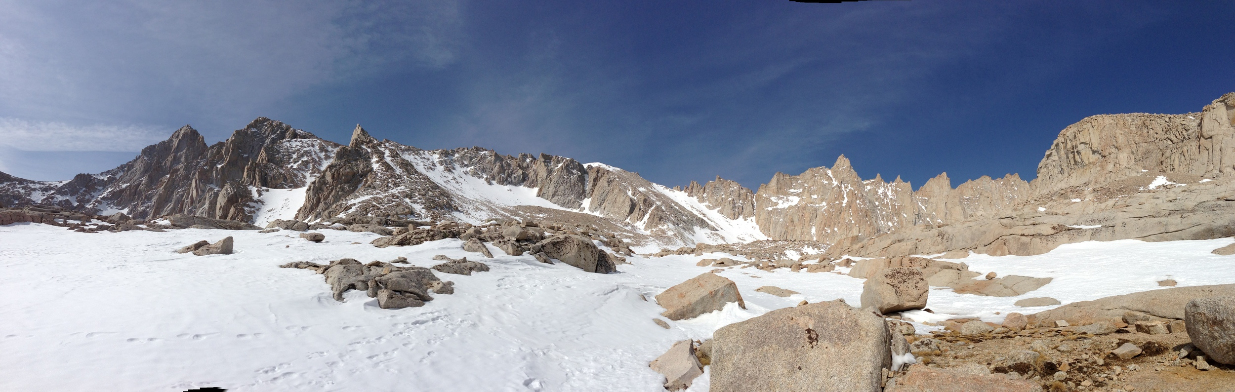 Mt. Whitney Ridgeline, April 8, 2013