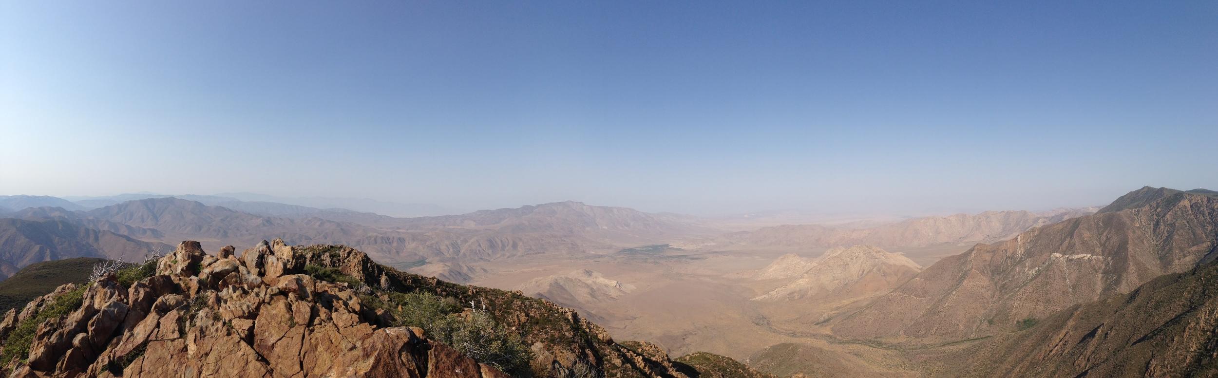 Part of the summit panorama of Garnet Peak, July 5, 2013