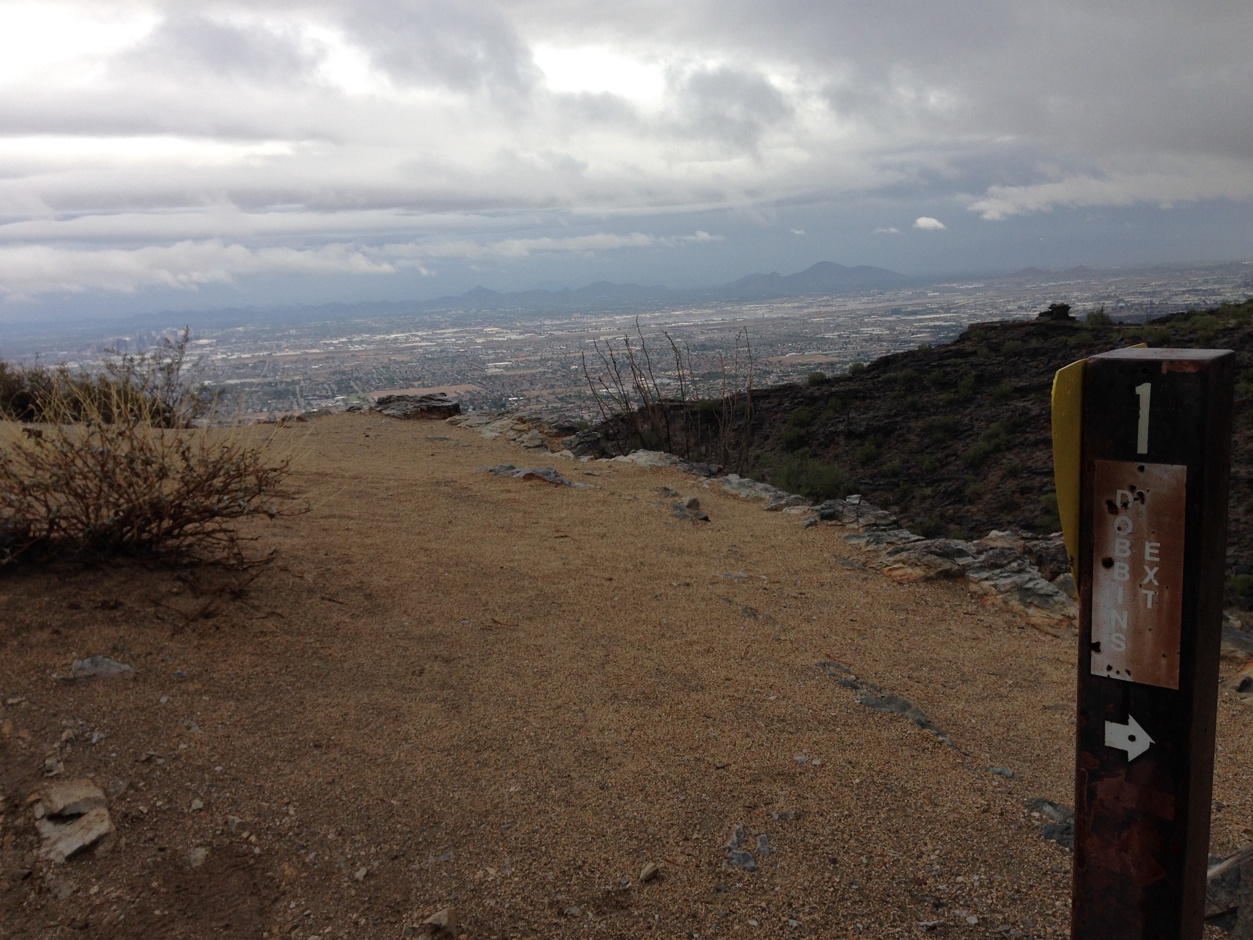 Summit, South Mountain (Peak Number One)
