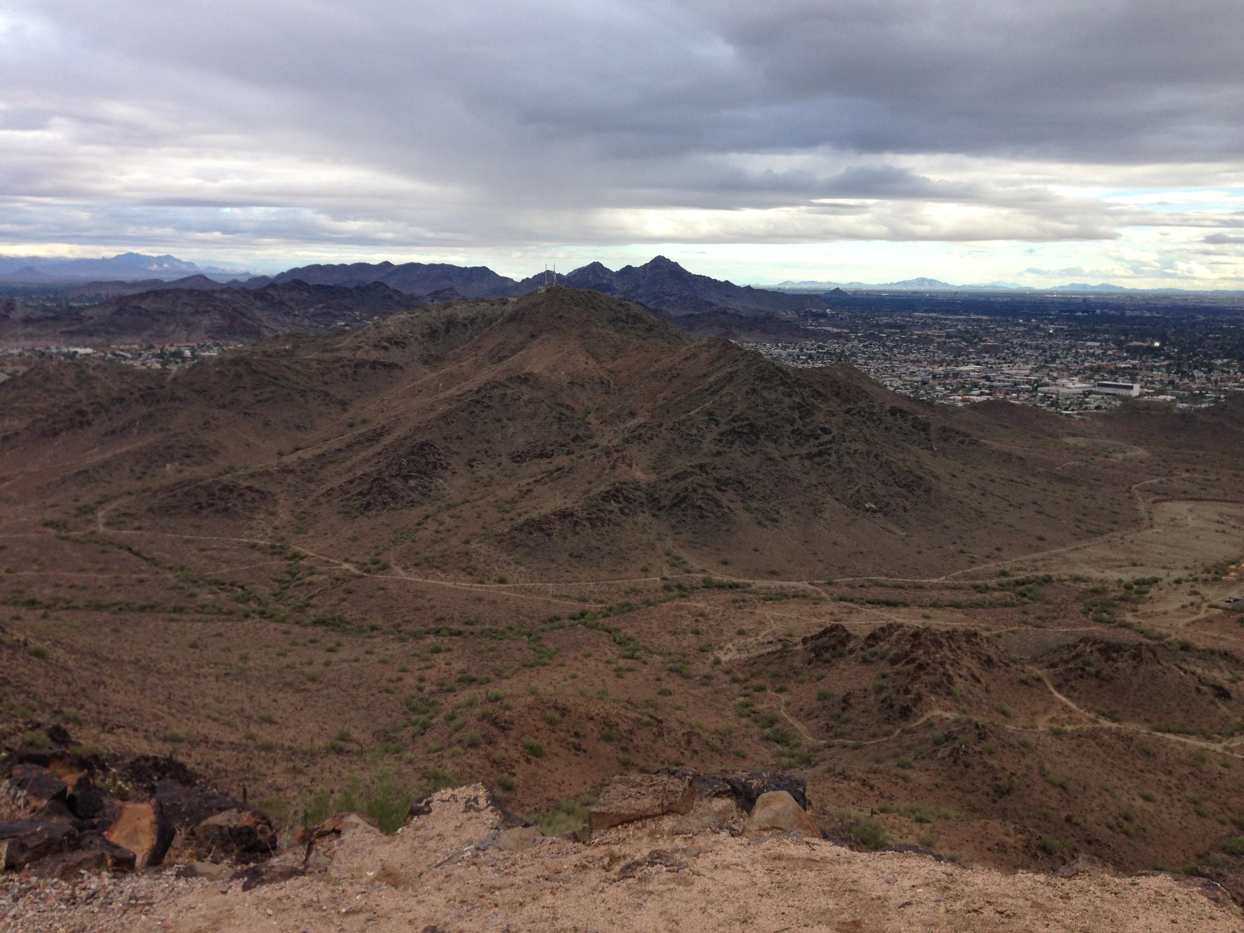 Terrain around Shaw Butte (Peak Five)