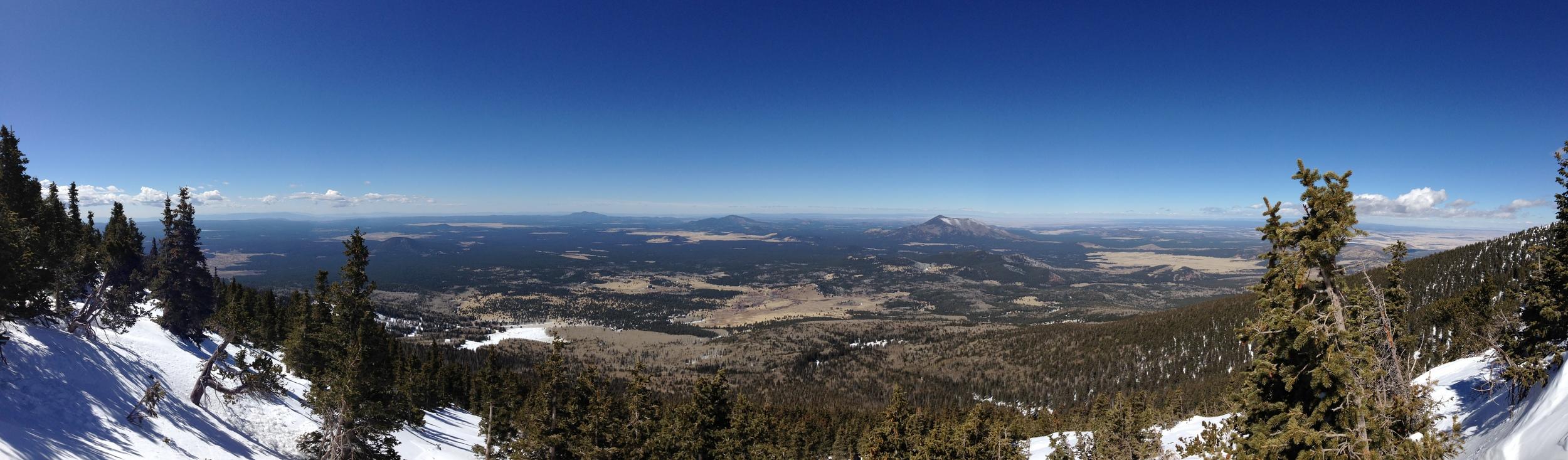 Humphreys Peak, March 2014