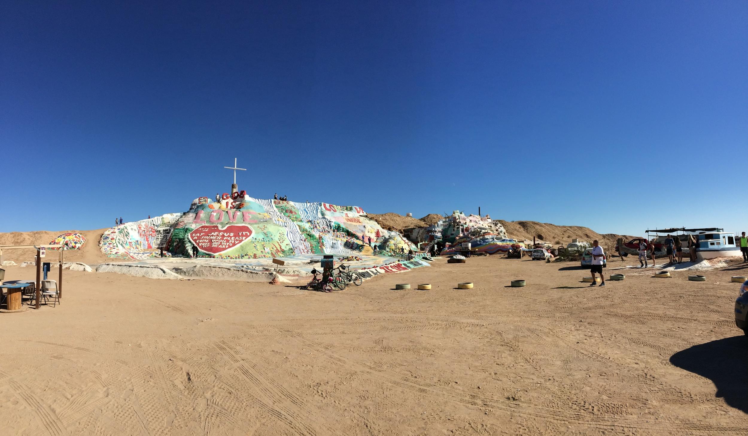 Salvation Mountain, November 2014