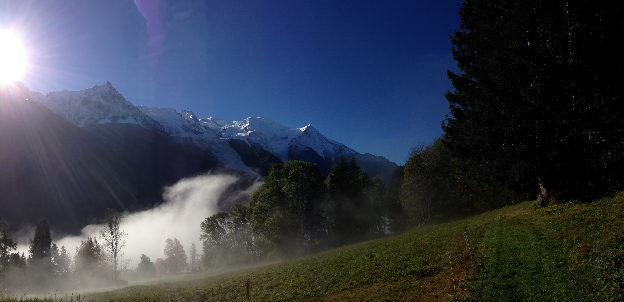 Morning, Chamonix Valley