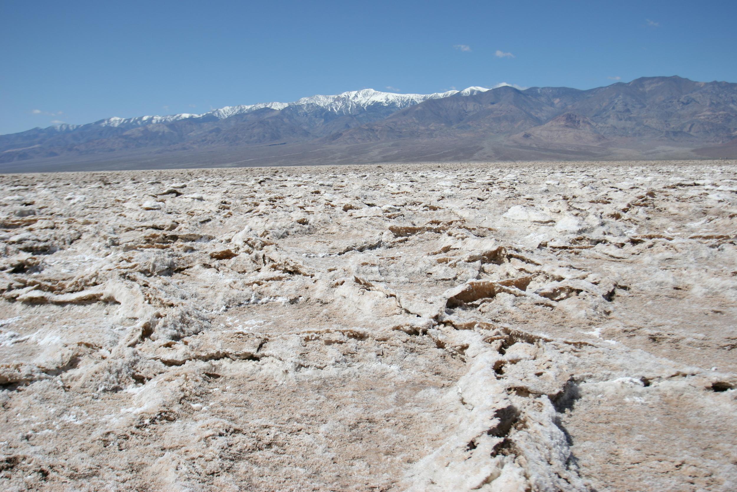 Devil's Golf Course, Telescope Peak, Death Valley