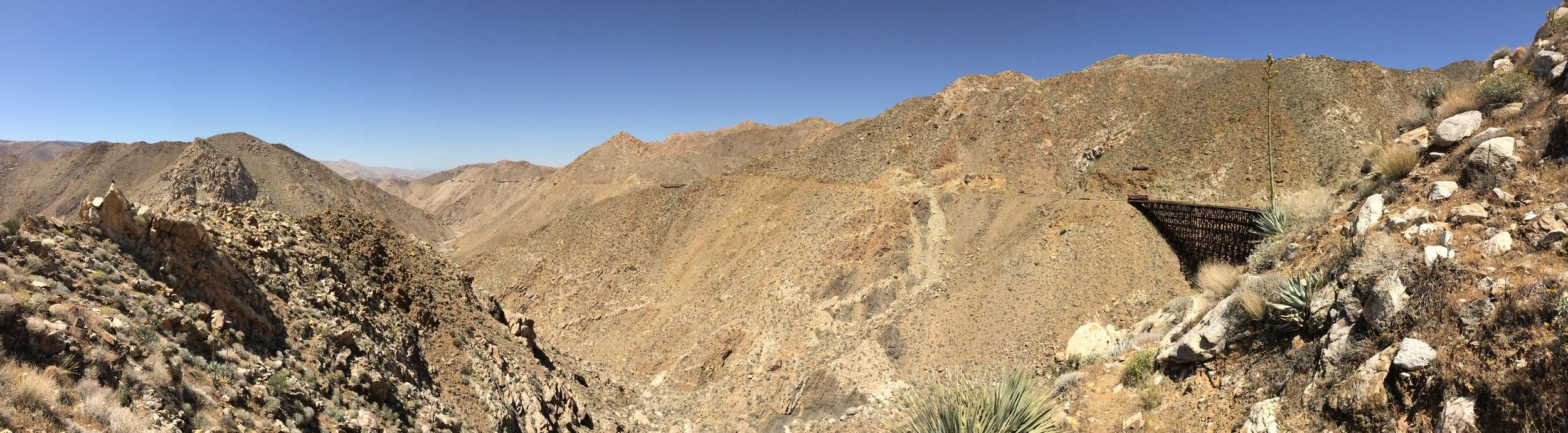 Goat Canyon Trestle, April 2015