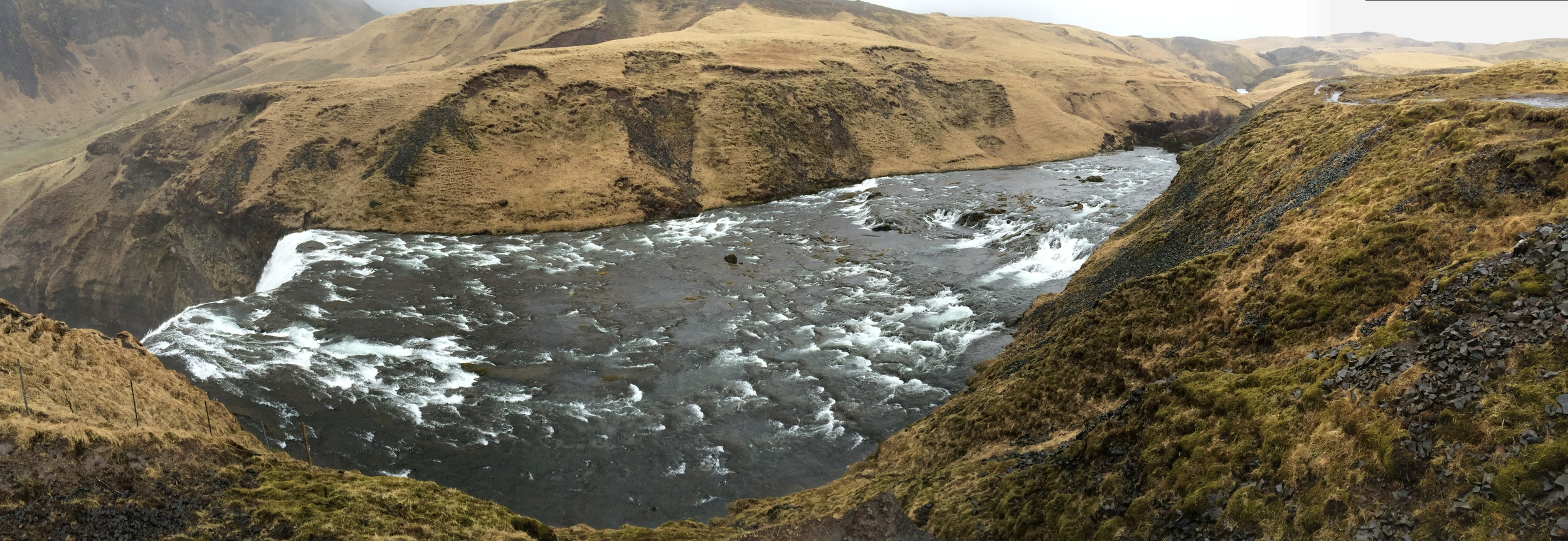 Skoga River, May 2015, near Skogafoss