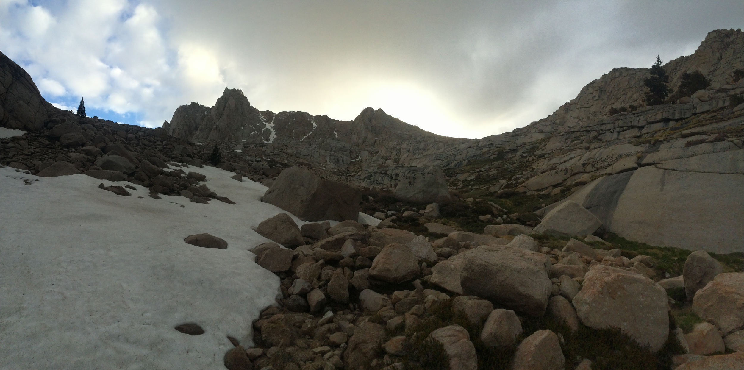 Meysan Lake drainage, Meysan Lake Trail, June 2015