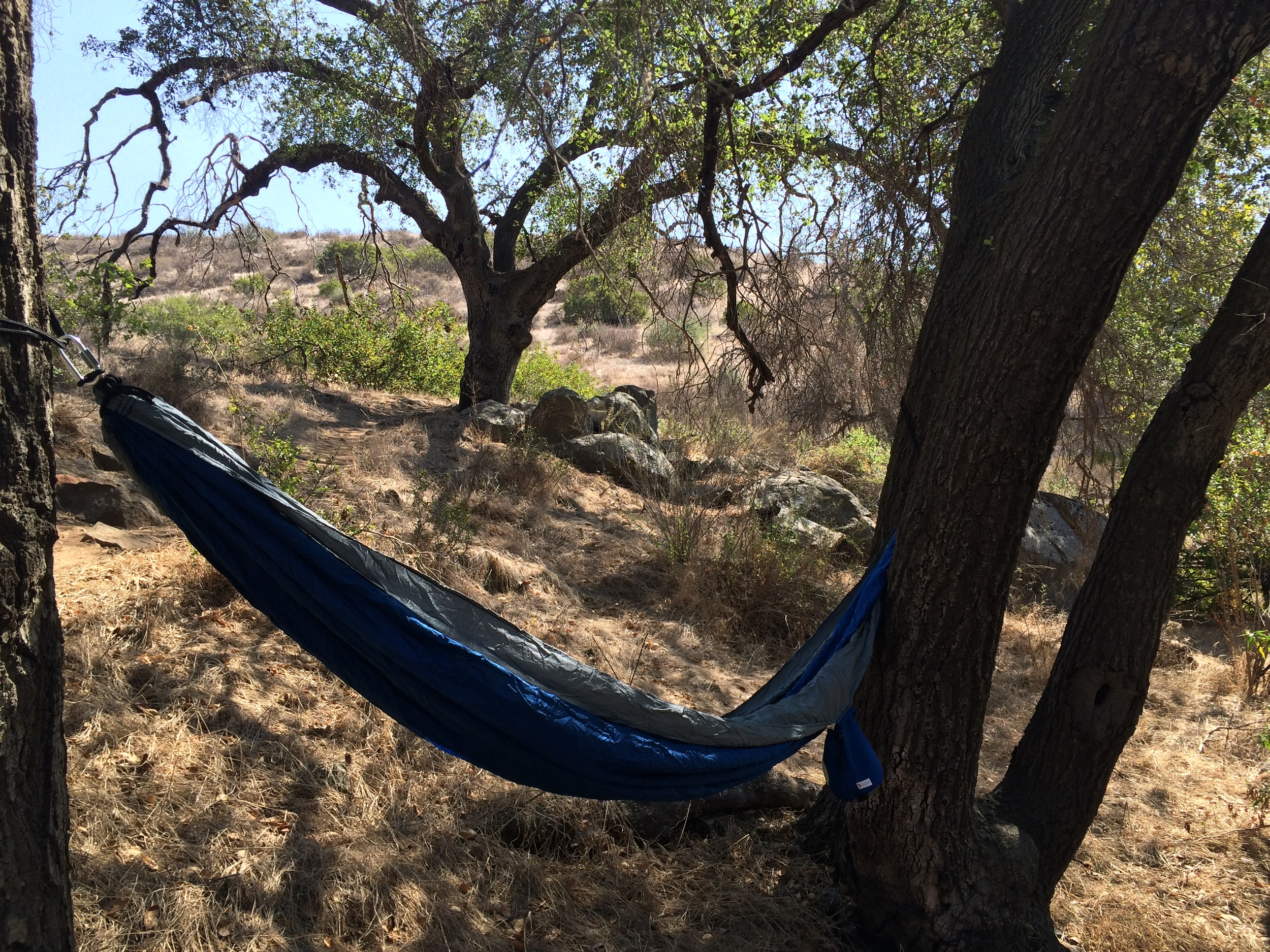 Nothing provides the wilderness experience like sleeping in a hammock.