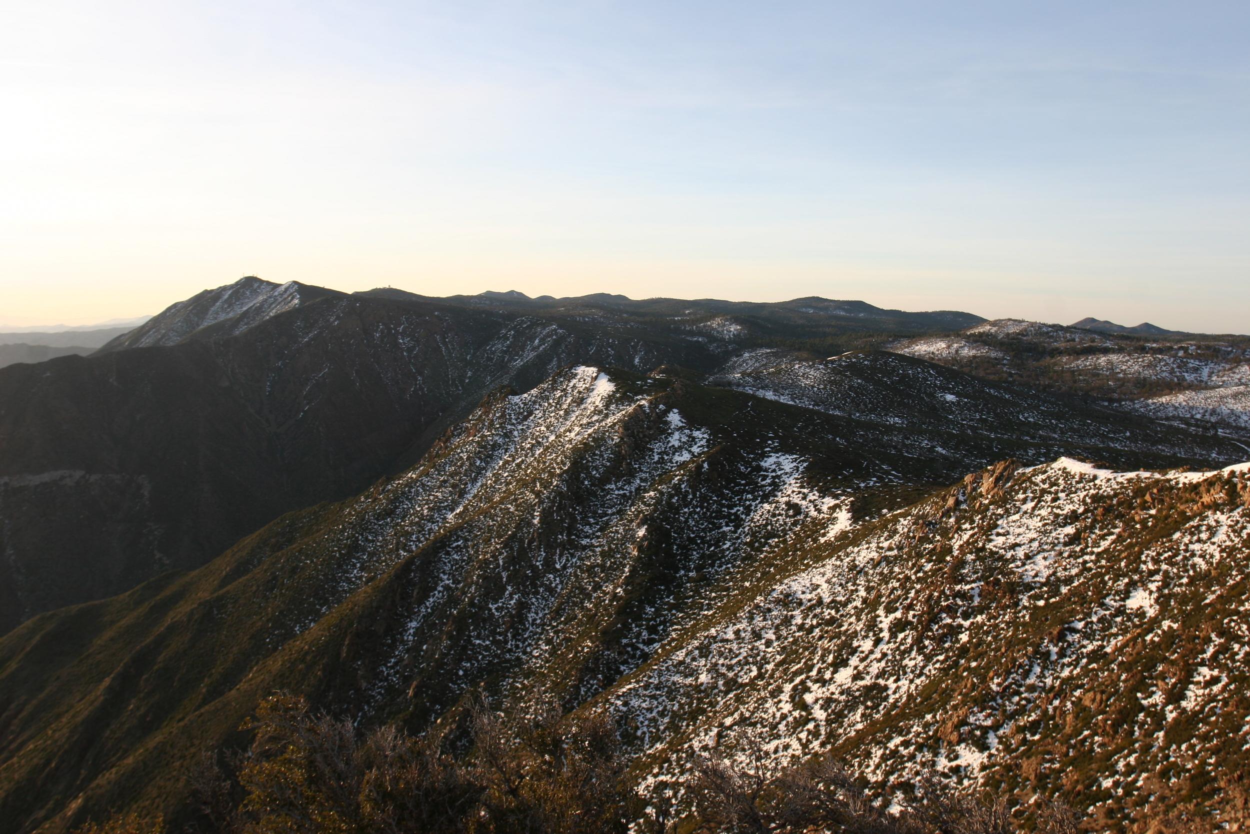 San Diego's alpine area - the Laguna Mountains