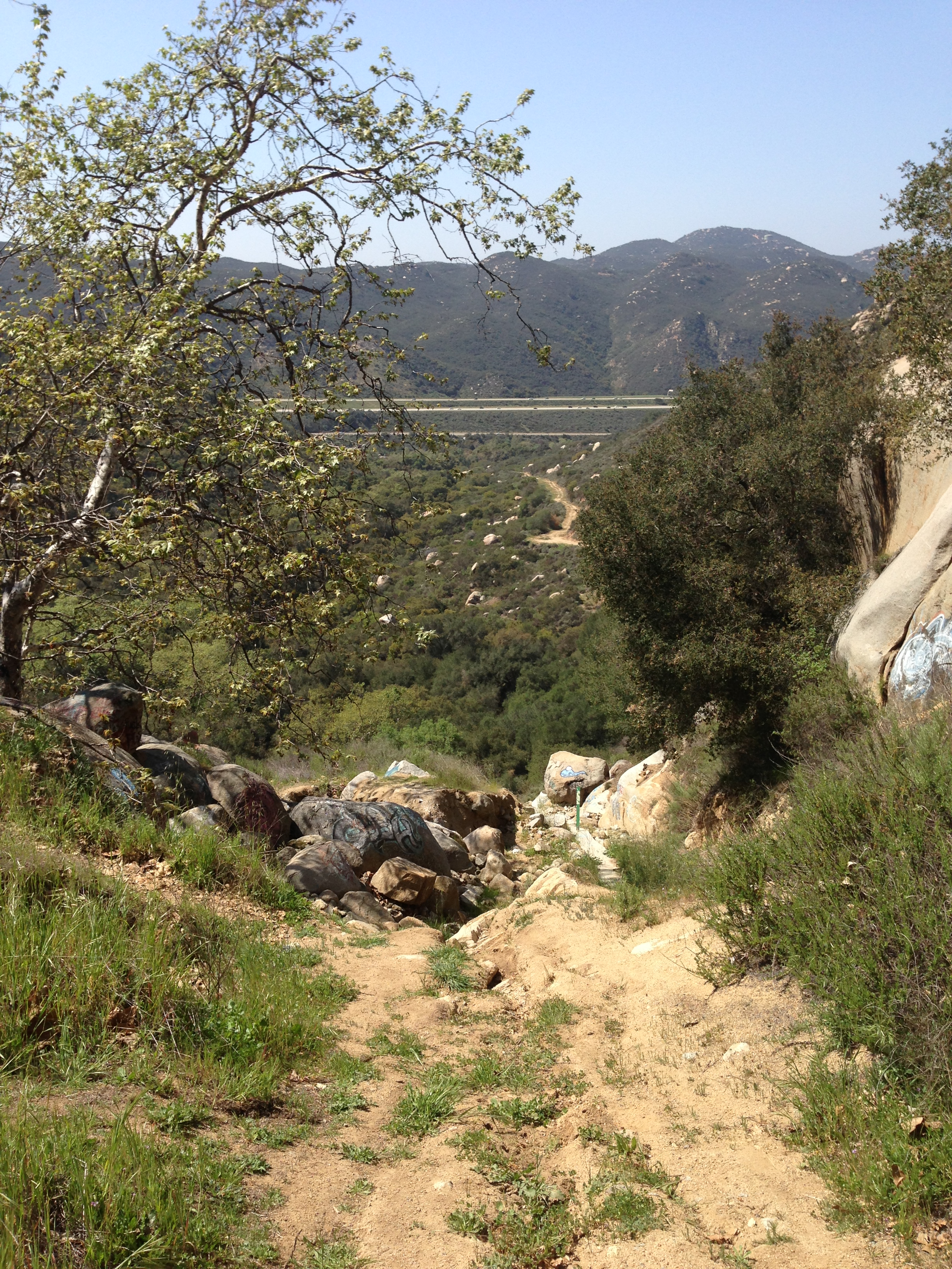 Area around Lawrence Welk Caves