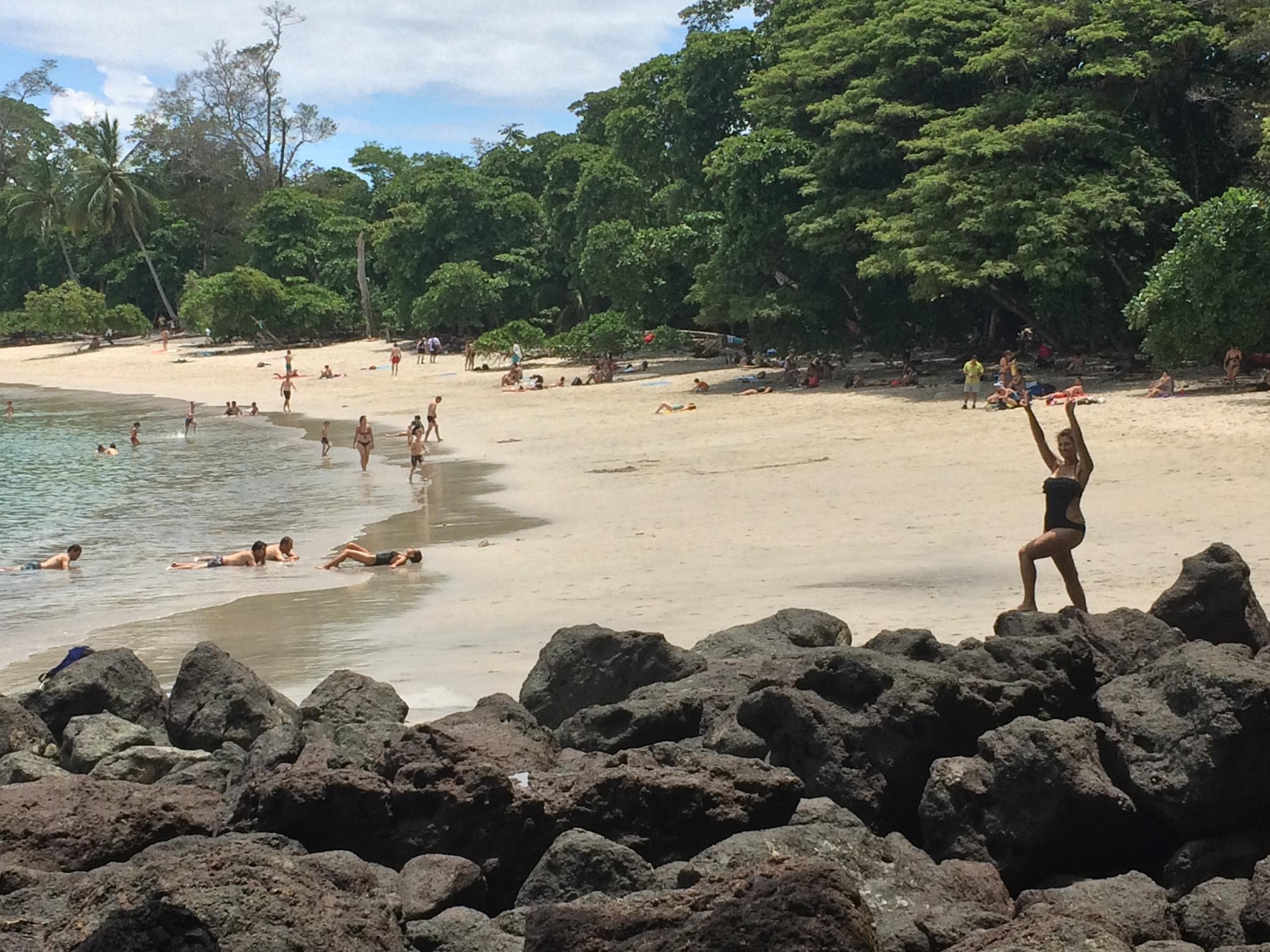 Playa Manuel Antonio. Manuel Antonio is regarded as one of the world's premier National Parks