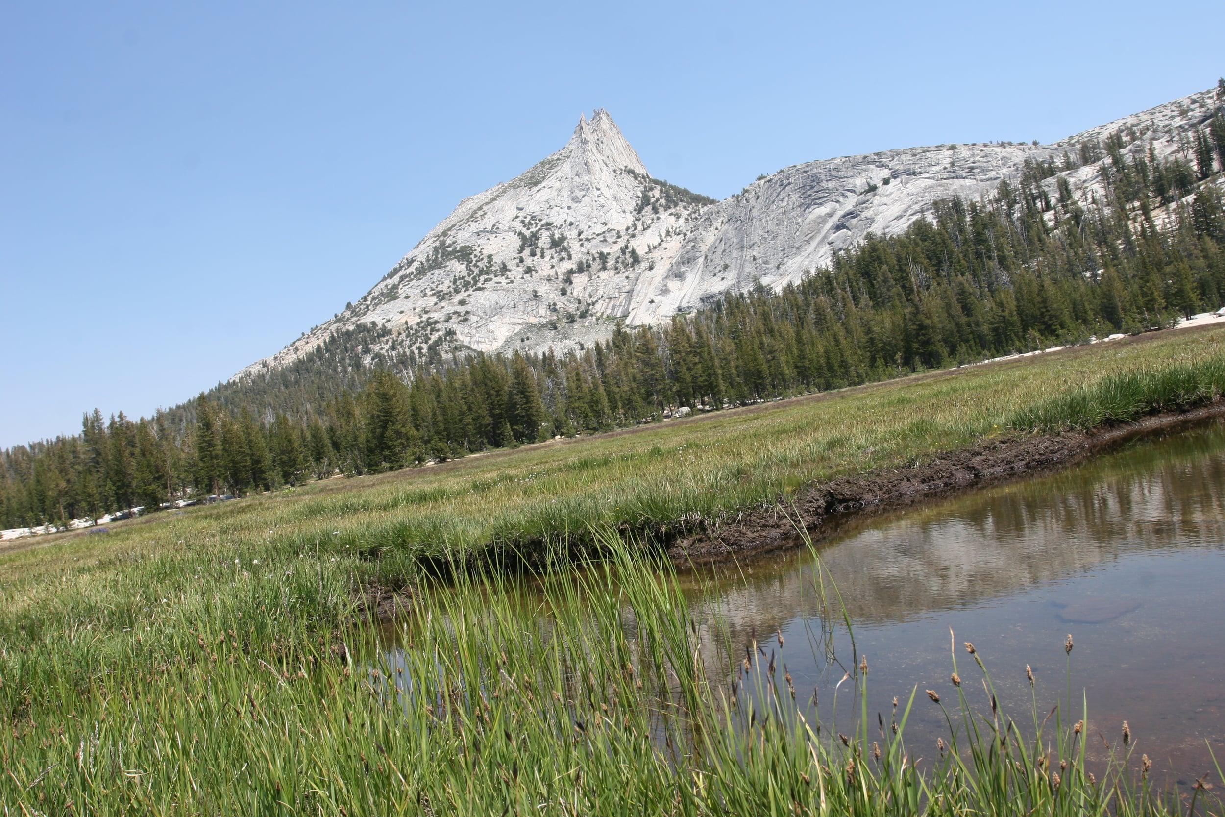 Cathedral Lake, Cathedral Peak, Yosemite