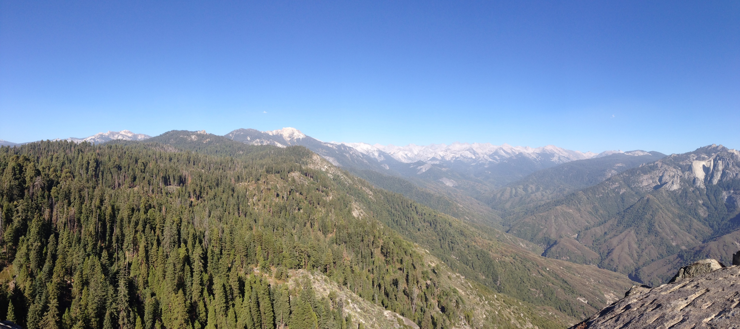 View from Moro Rock