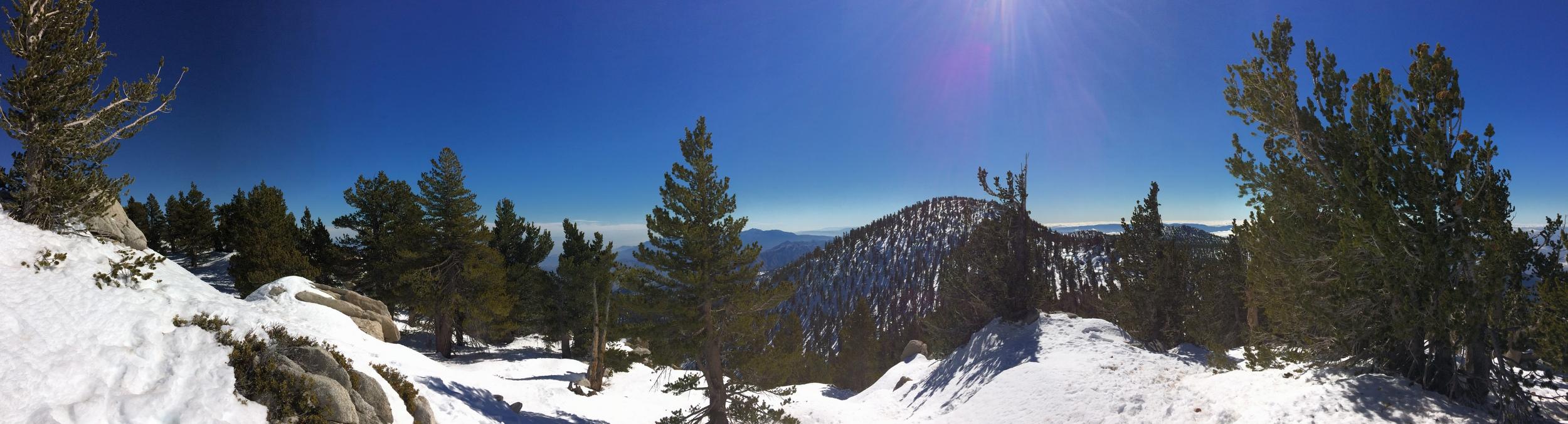 Folly Peak to San Jacinto Ridgeline, January 2016