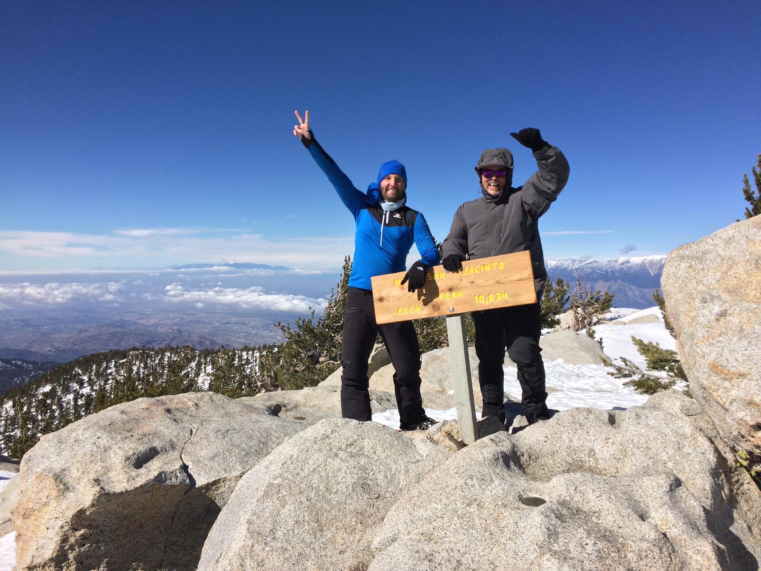 Summit, San Jacinto, January 2016