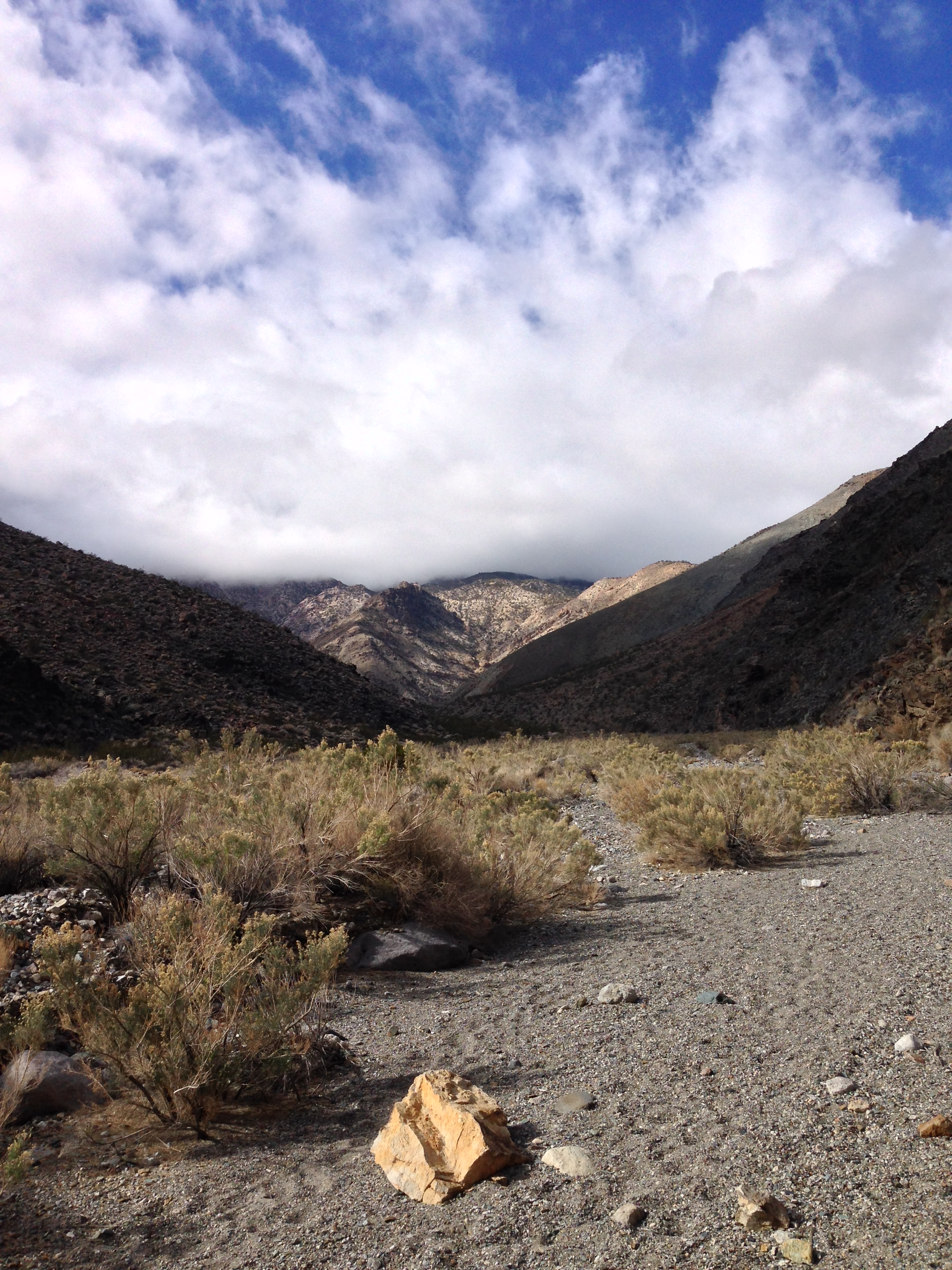 Shorty's Well Route, Death Valley