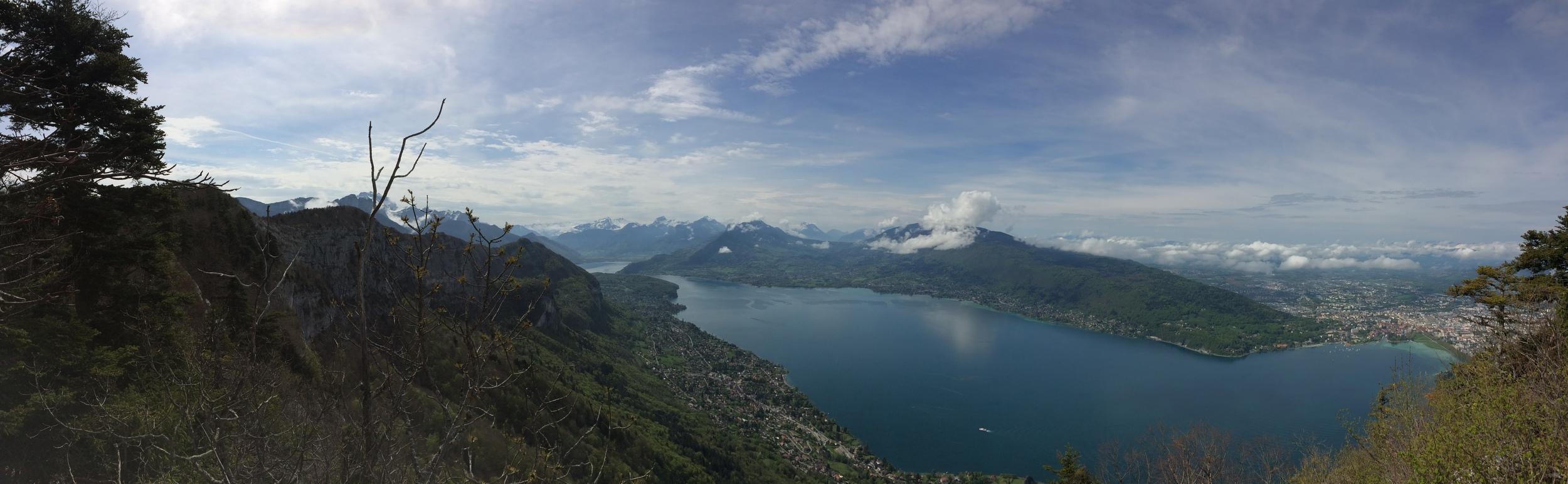 Summit views, Mont Veyrier