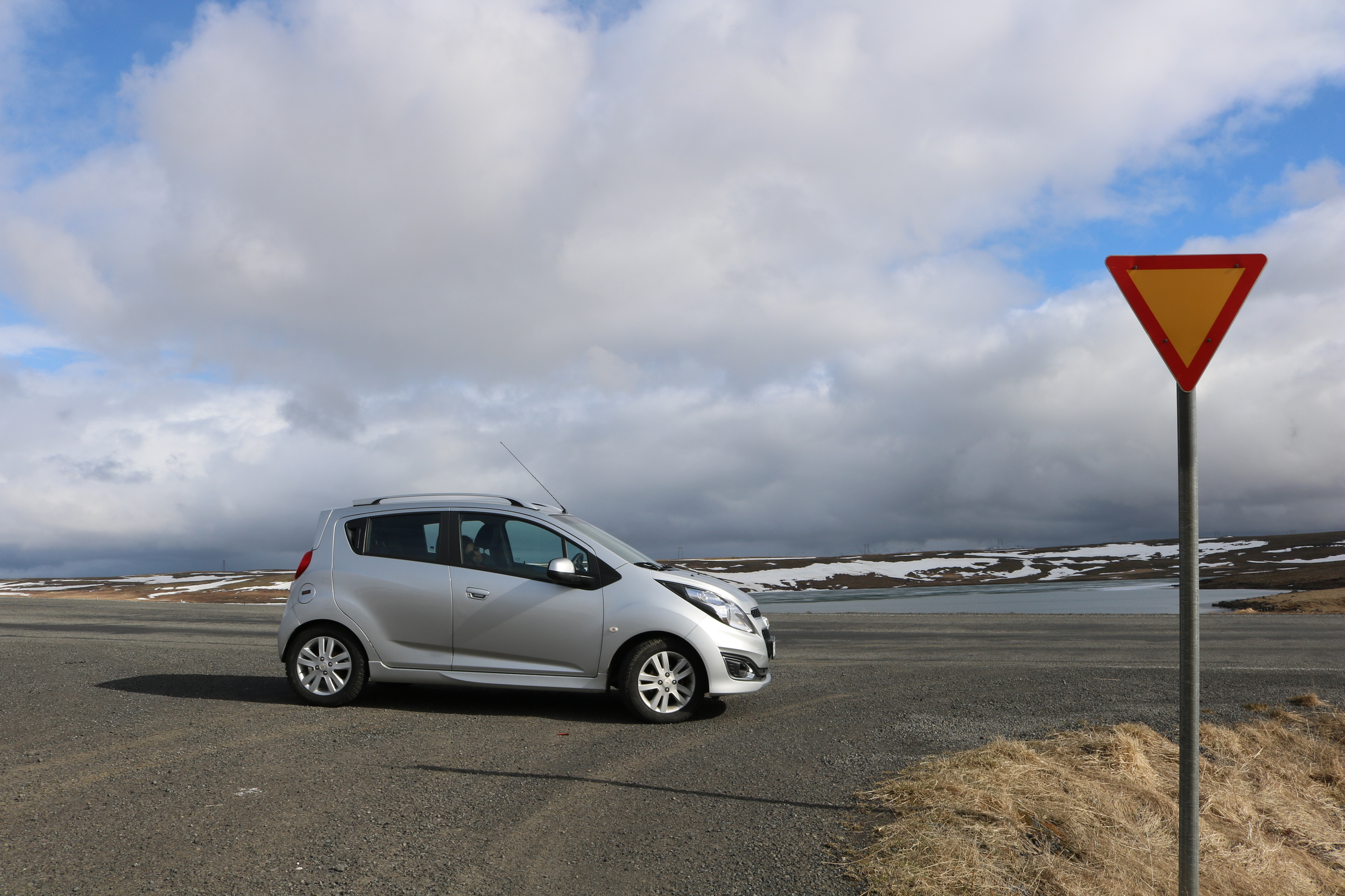 The best way to explore Iceland? By foot, but car is the best way to get to those hiking spots!