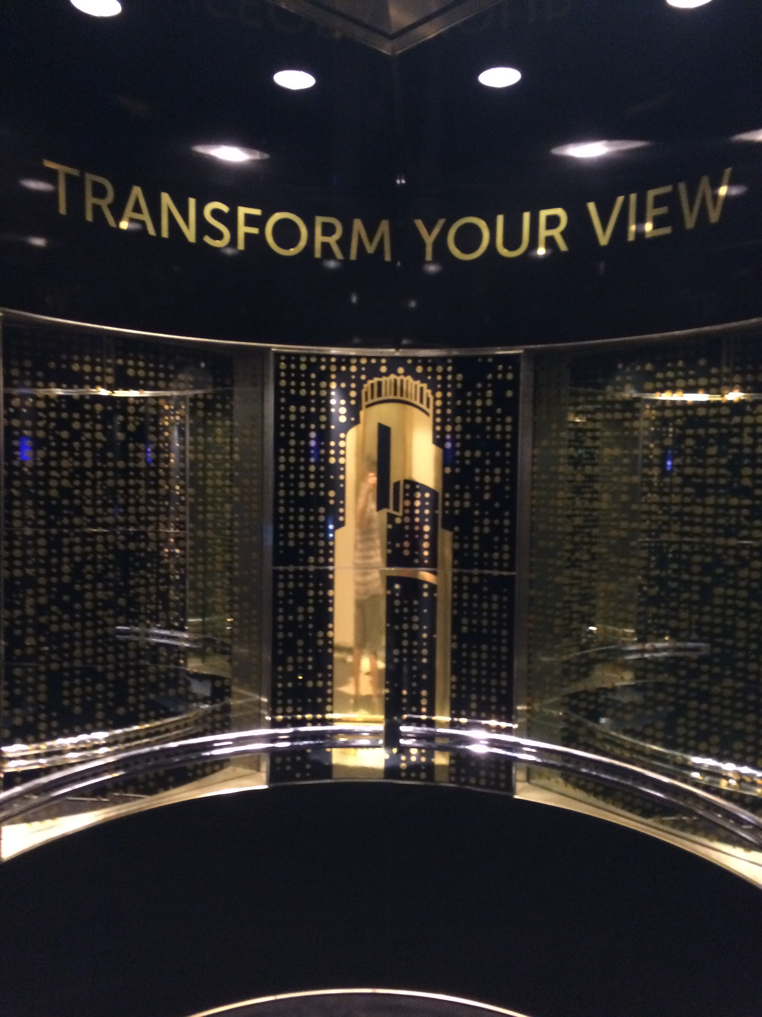 High-speed elevators bring visitors to the 54th, 69th, and 70th floors which are part of the attractions.