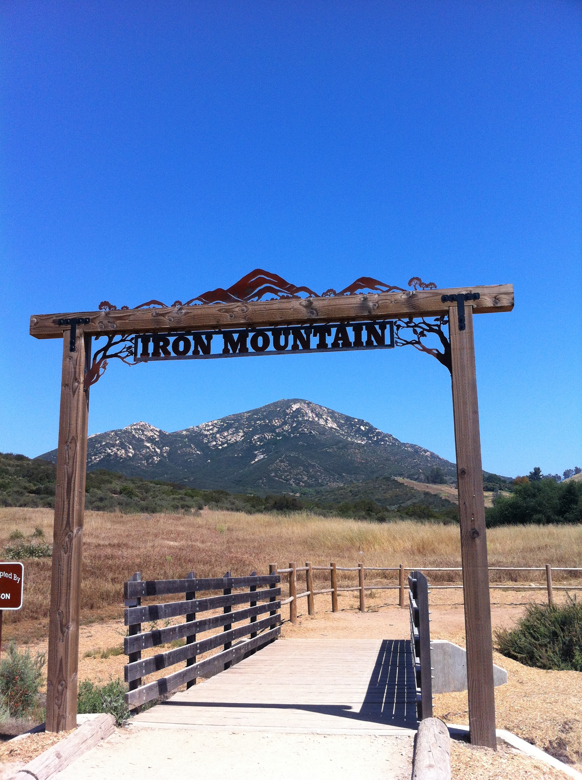 Iron Mountain is a popular, but somewhat strenuous hike in San Diego County.