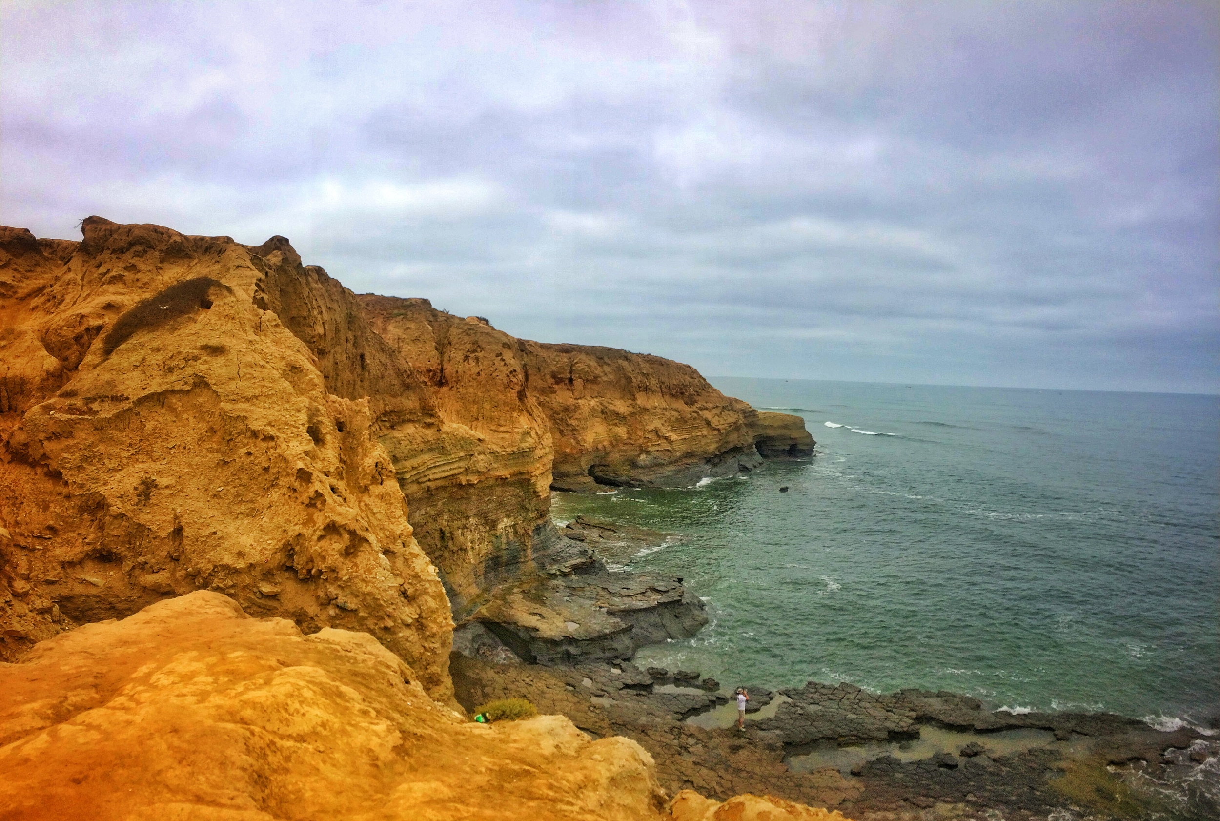 Sunset Cliffs is a great place to explore, and to watch the sunset.