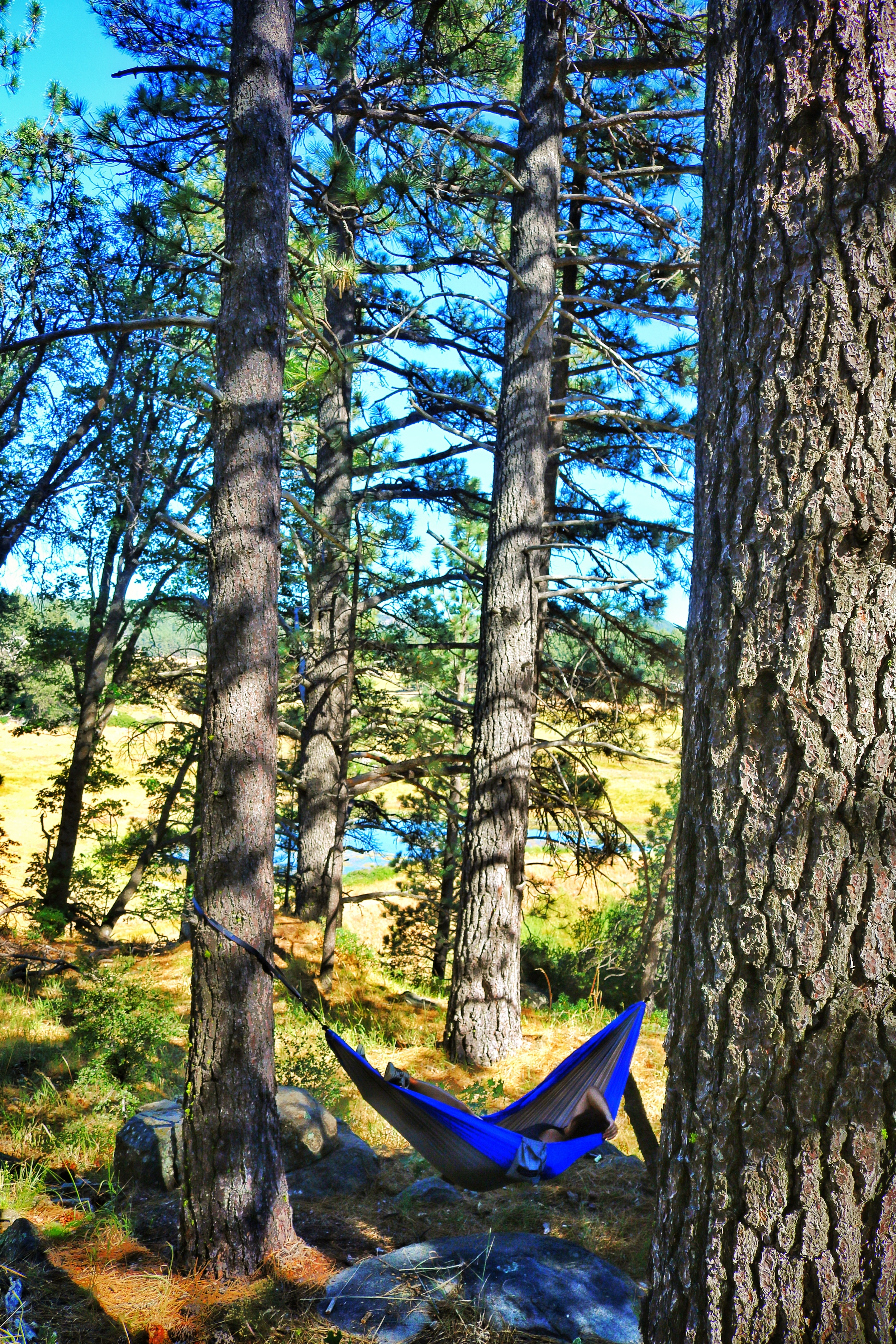 The Serac Classic Camping Hammock provides great comfort on day and multi-day trips.