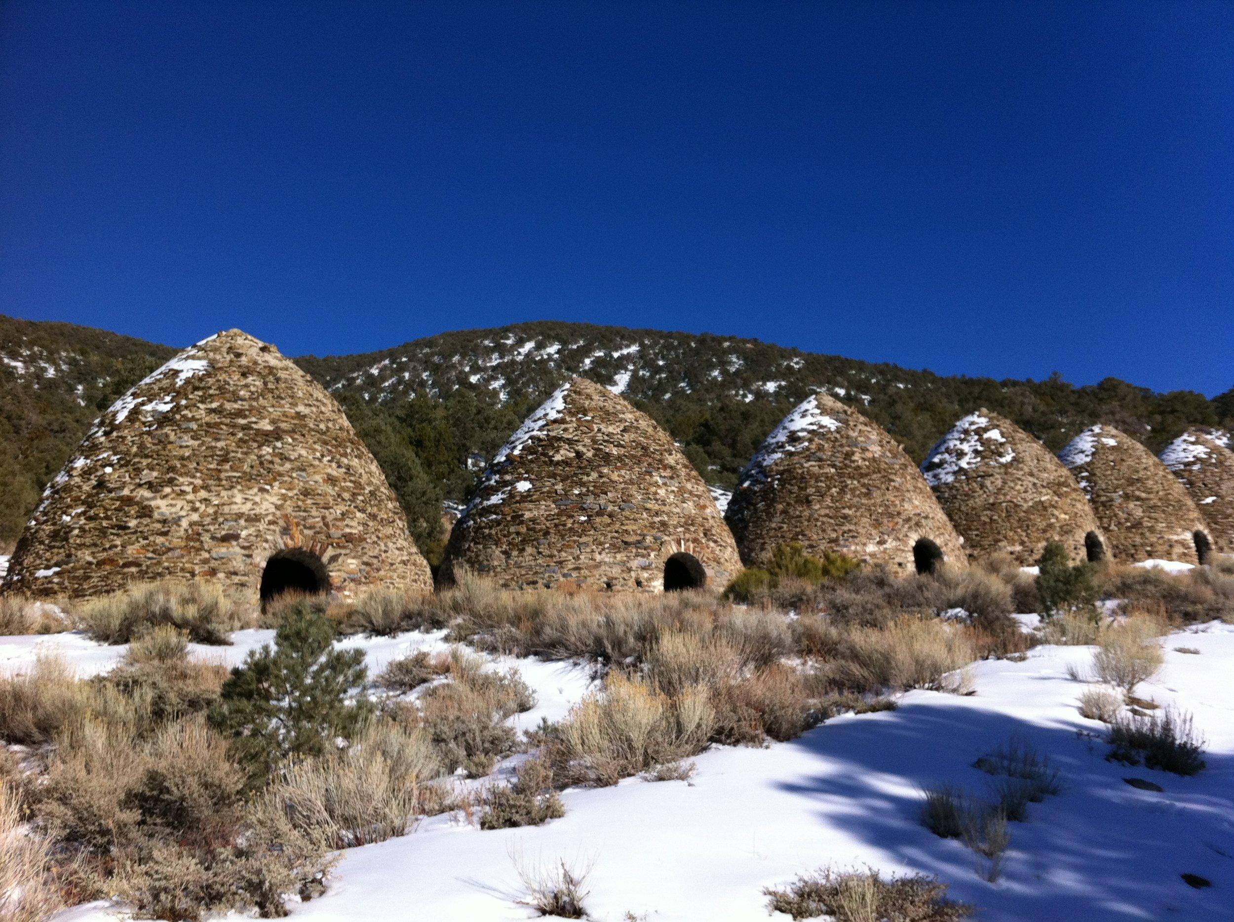 Charcoal Kilns, Winter
