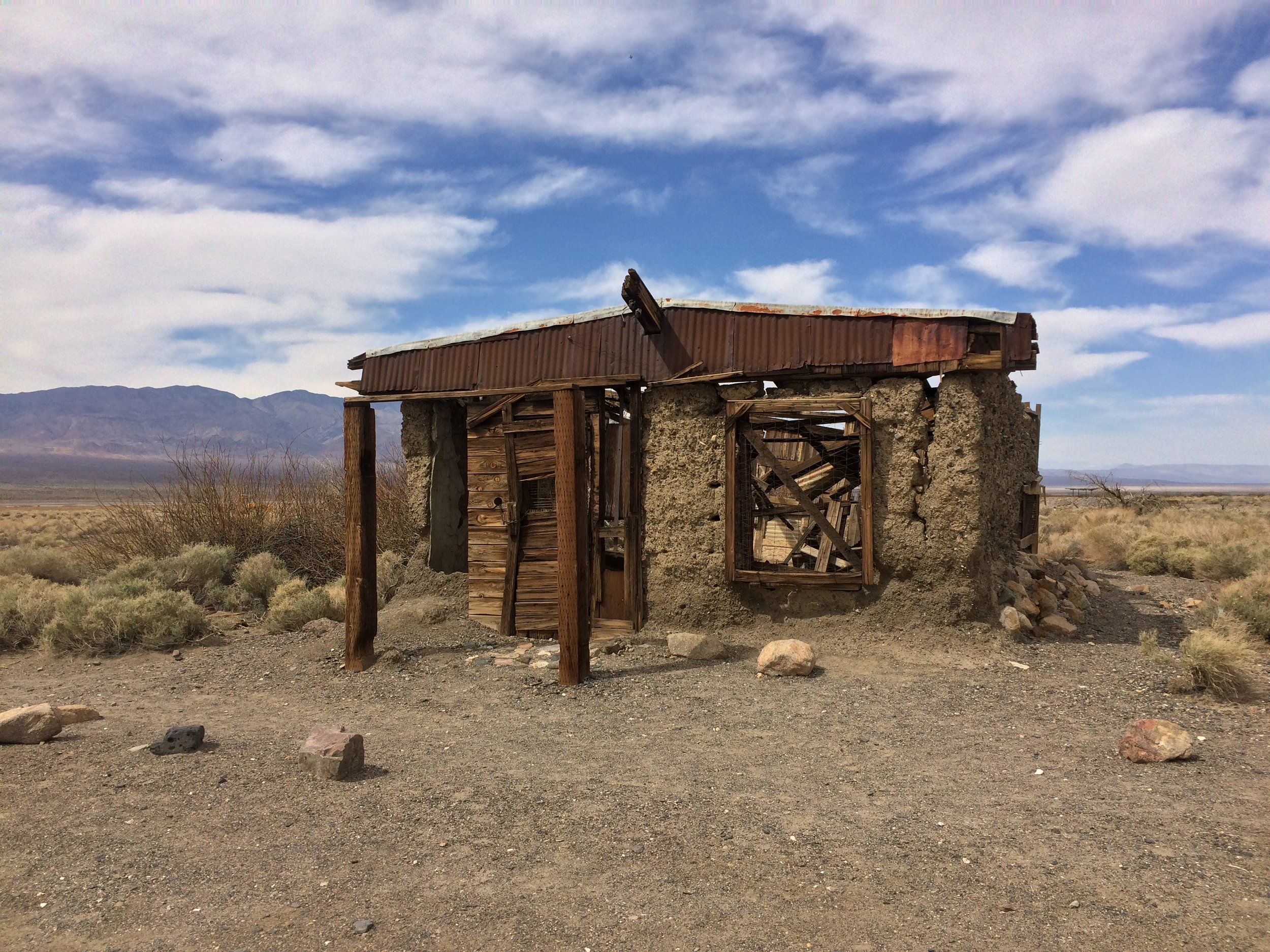 """Ballarat. Although technically not in """"Death Valley"""", the ghost town of Ballarat is an interesting spot to visit in the nearby Searles Valley."""