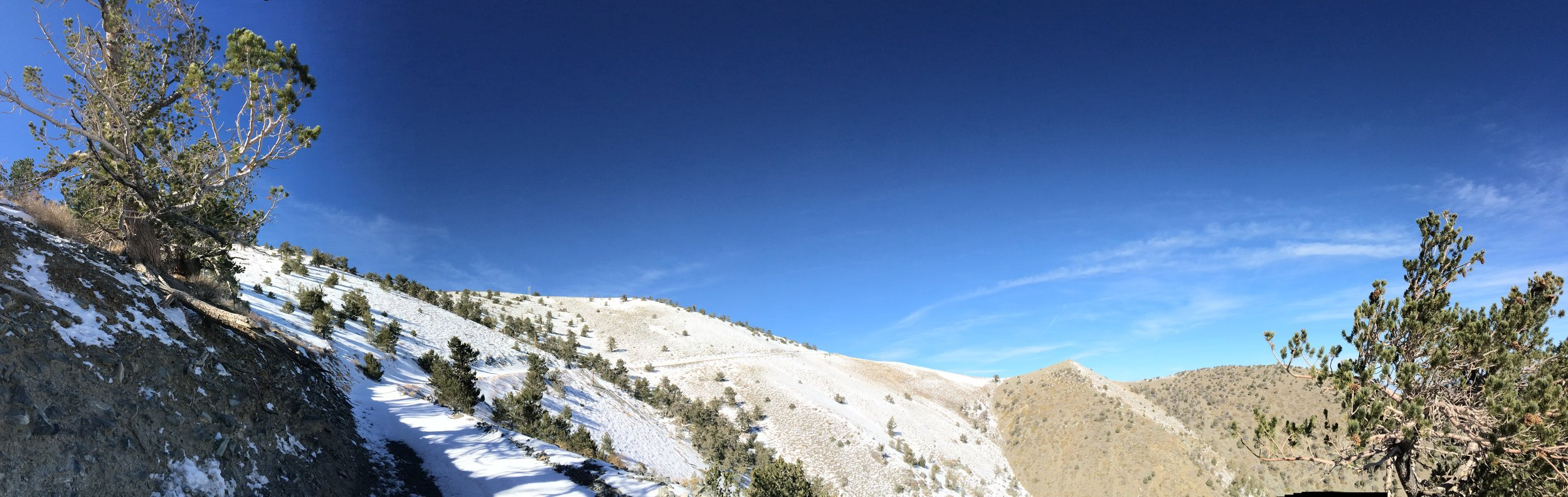 Rogers Peak: an easy hike in the summer; and a more technical climb in the winter.