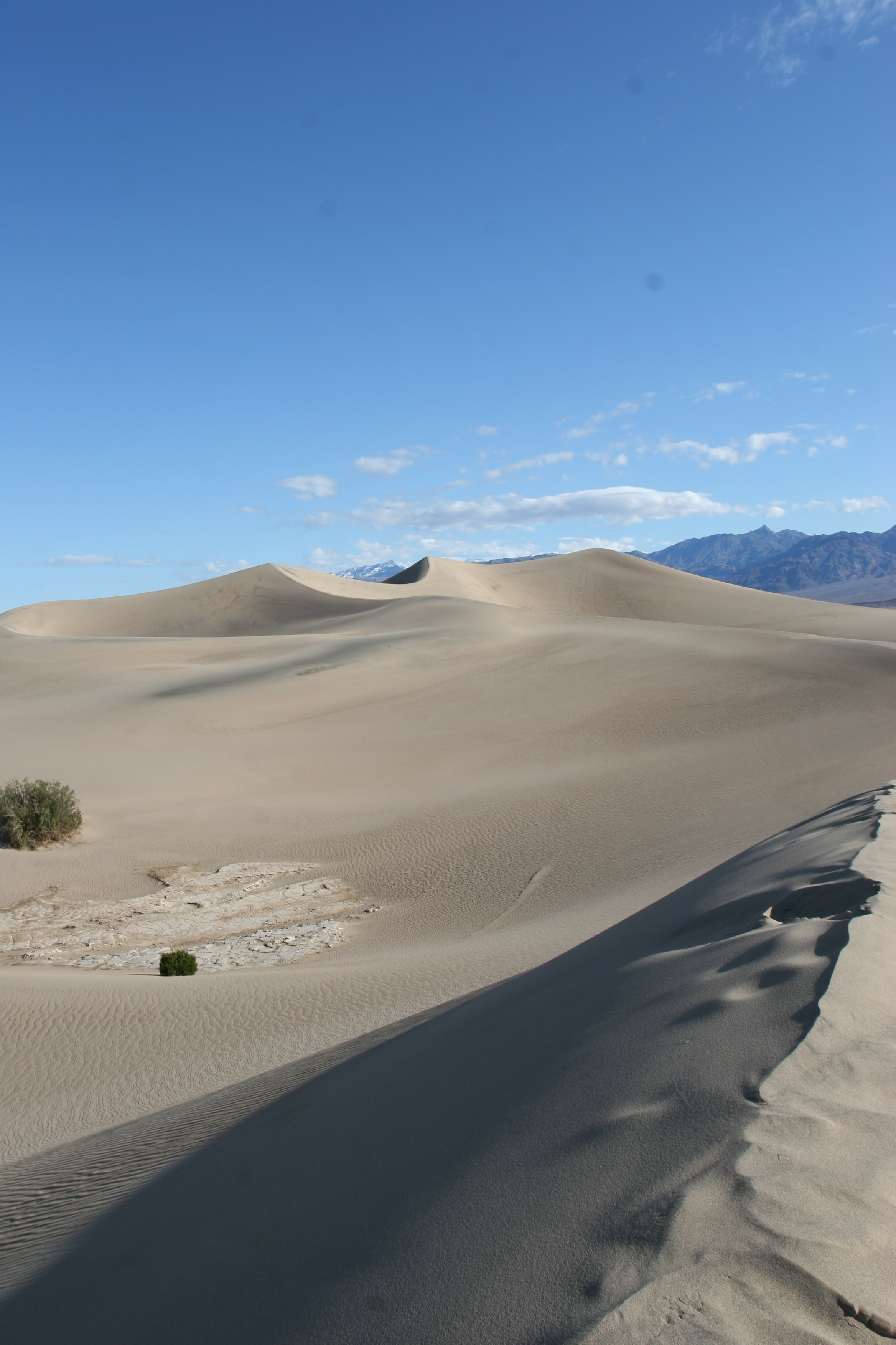 The Mesquite Flat Sand Dunes are a must-visit location in Death Valley.