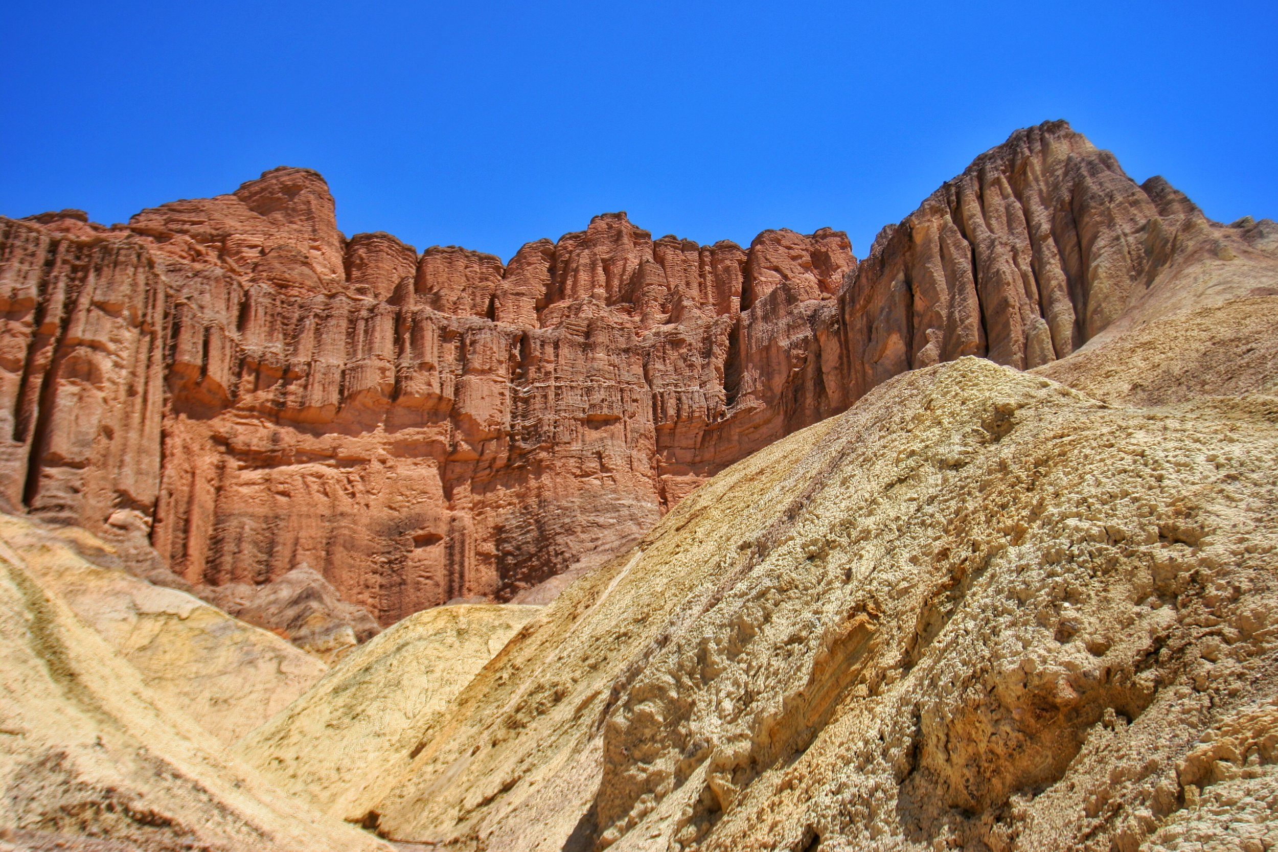 The Red Cathedral is one of many amazing things that can be seen in Golden Canyon