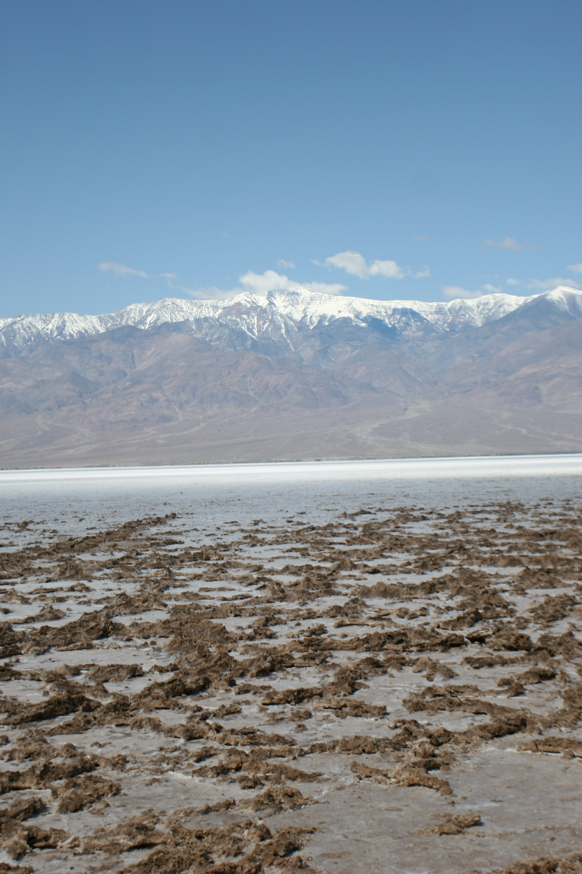 The southern portions of Death Valley have innumerable interesting features and fantastic views.