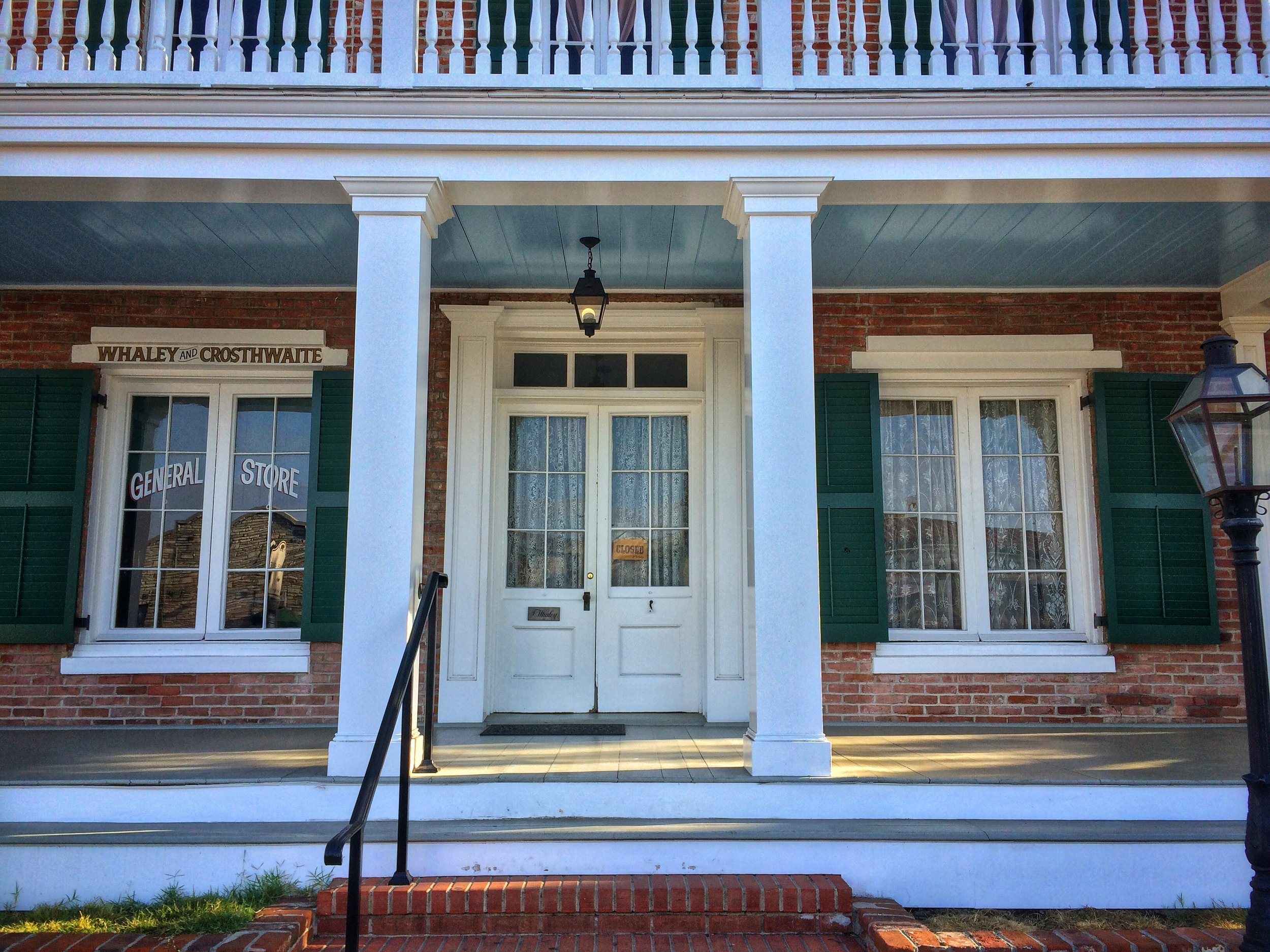 The Whaley House is rumored to be haunted by numerous ghosts, including that of Yankee Jim