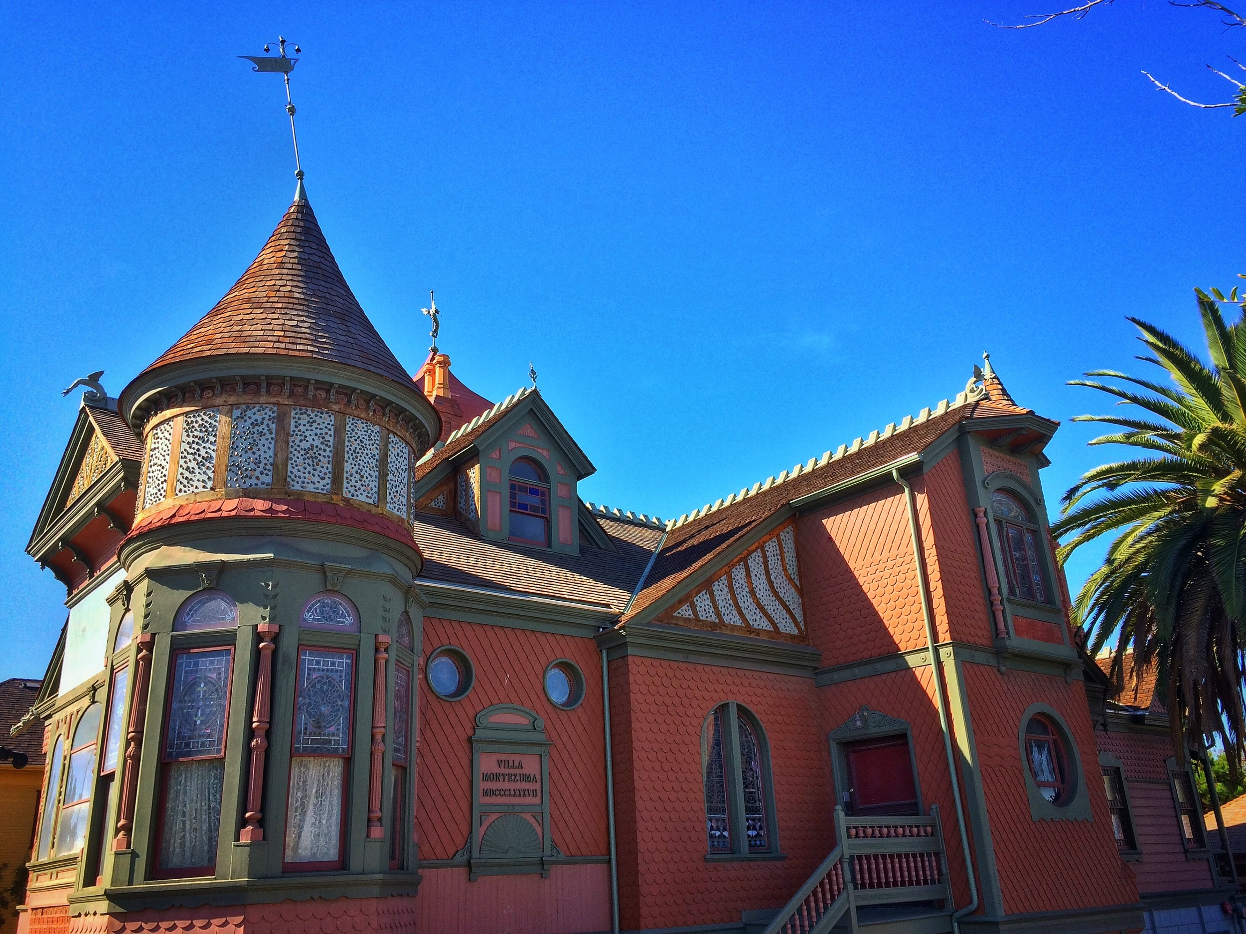 """Villa Montezuma, closed for years, now open, formerly home to """"otherworldly"""" performances."""